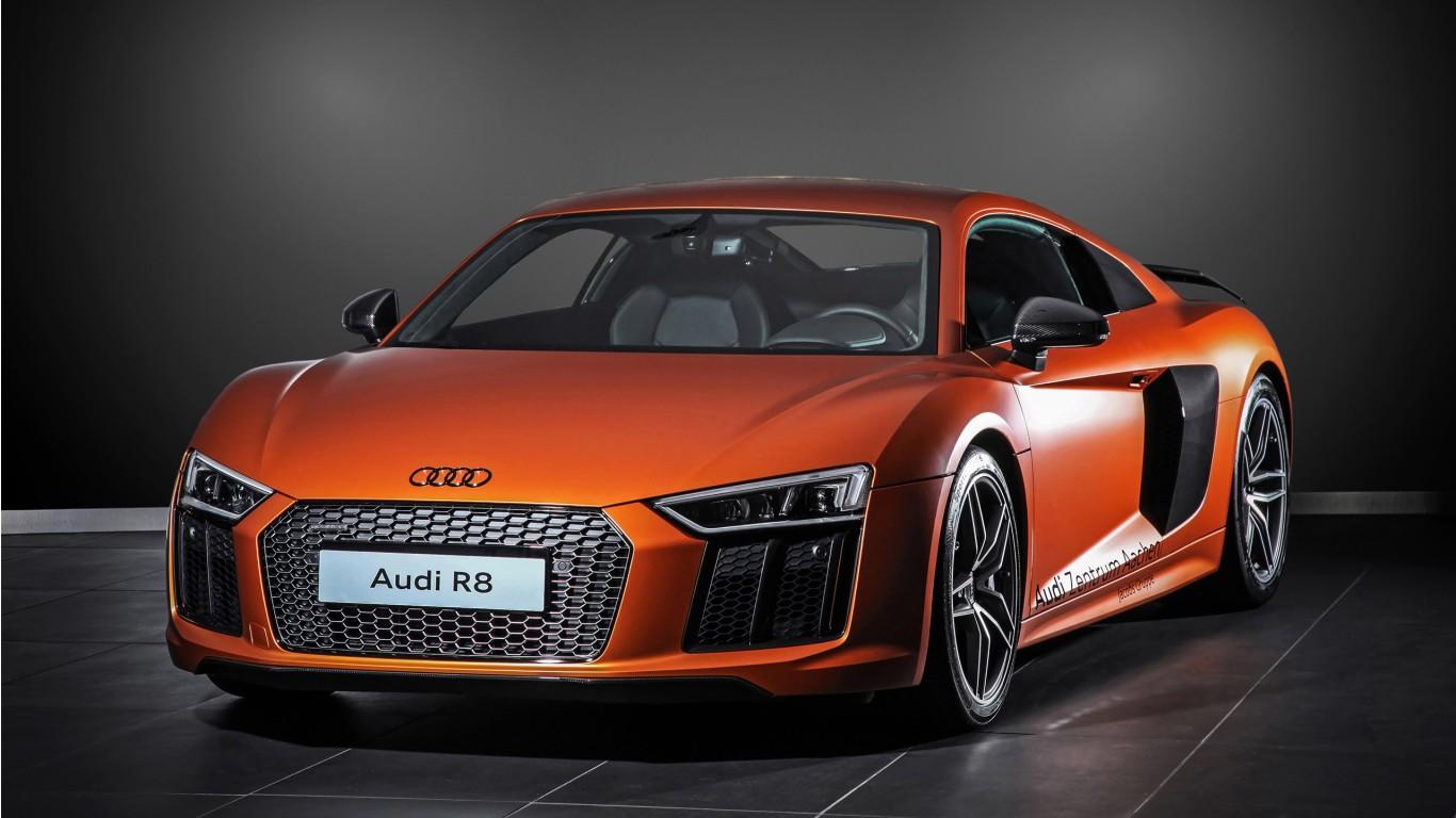 2015 HplusB Design Audi R8 V10 Wallpaper | HD Car ...