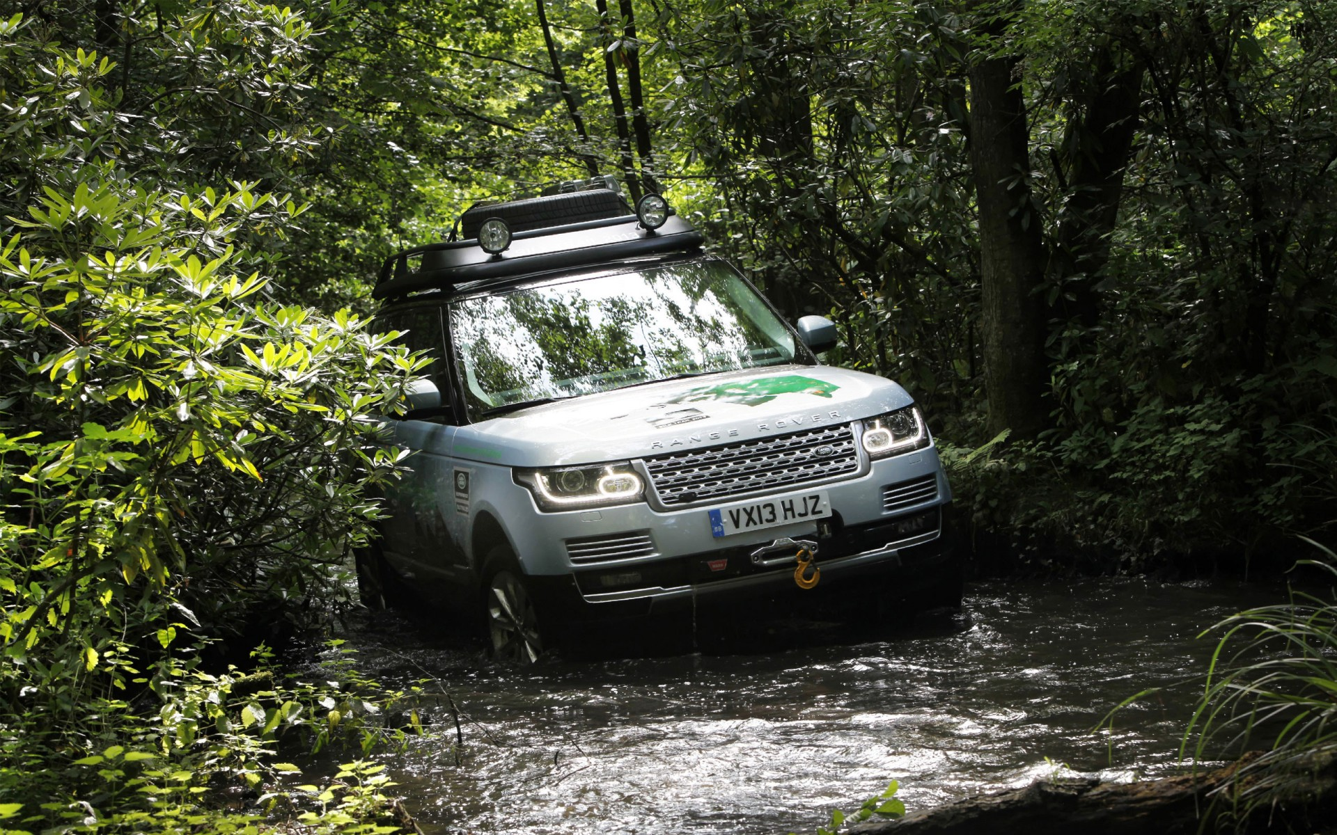 2015 Land Rover Range Rover Hybrid Wallpaper