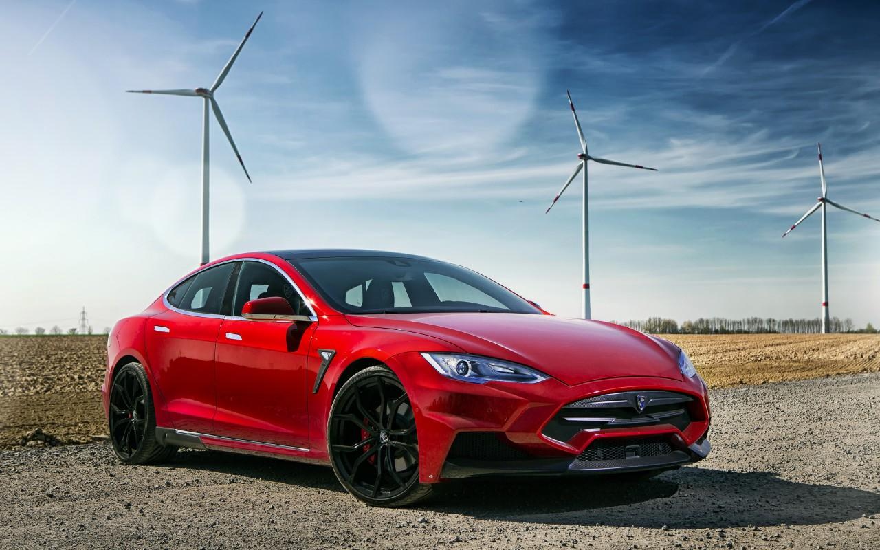 2015 Larte Design Tesla Model S Wallpaper Hd Car