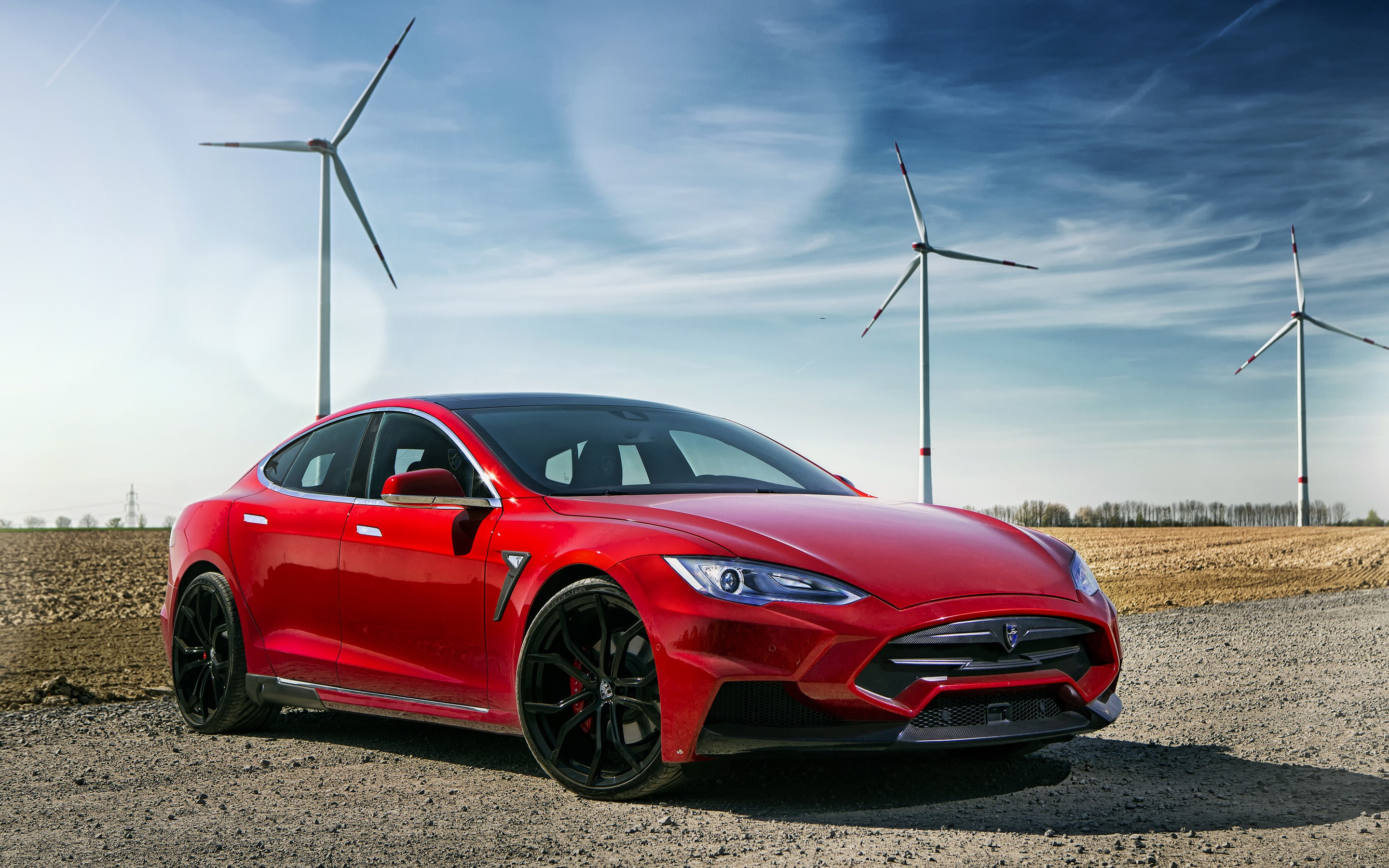 2015 Larte Design Tesla Model S Wallpaper Hd Car