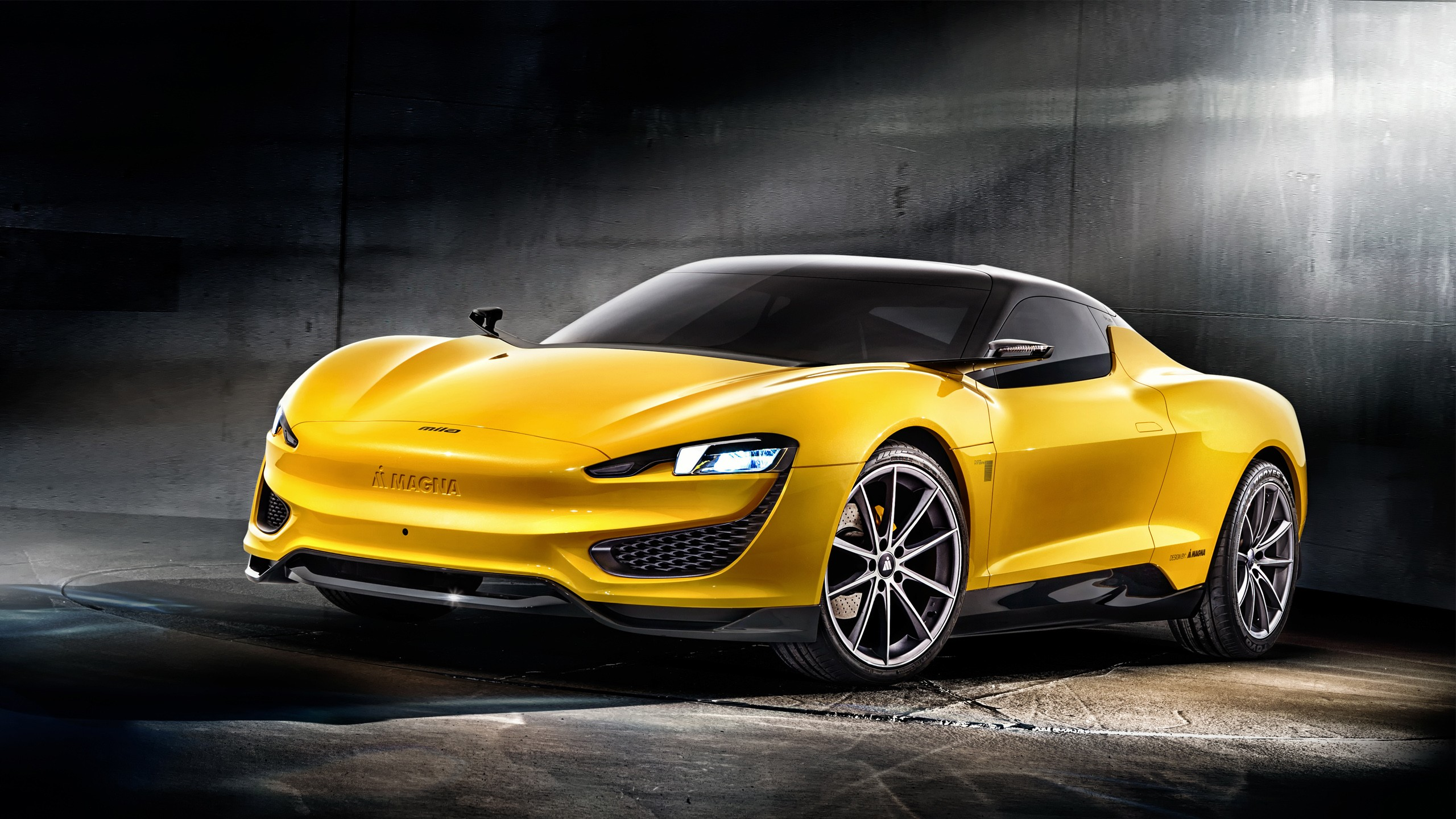 2015 Magna Steyr Mila Plus Hybrid Concept Wallpaper Hd Car Wallpapers Id 5430