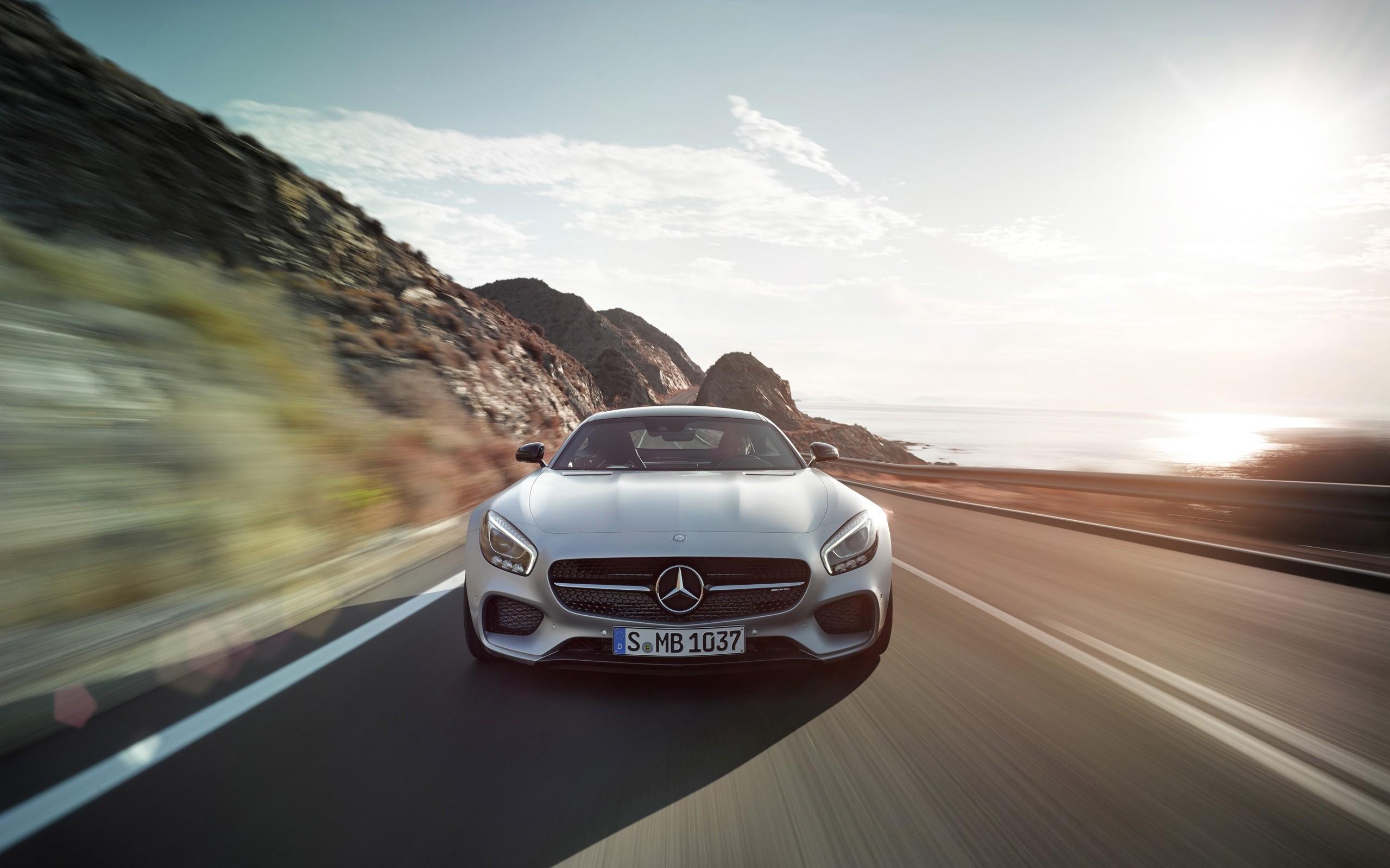 2015 Mercedes Amg Gt Iridium Silver Magno 2 Wallpaper Hd