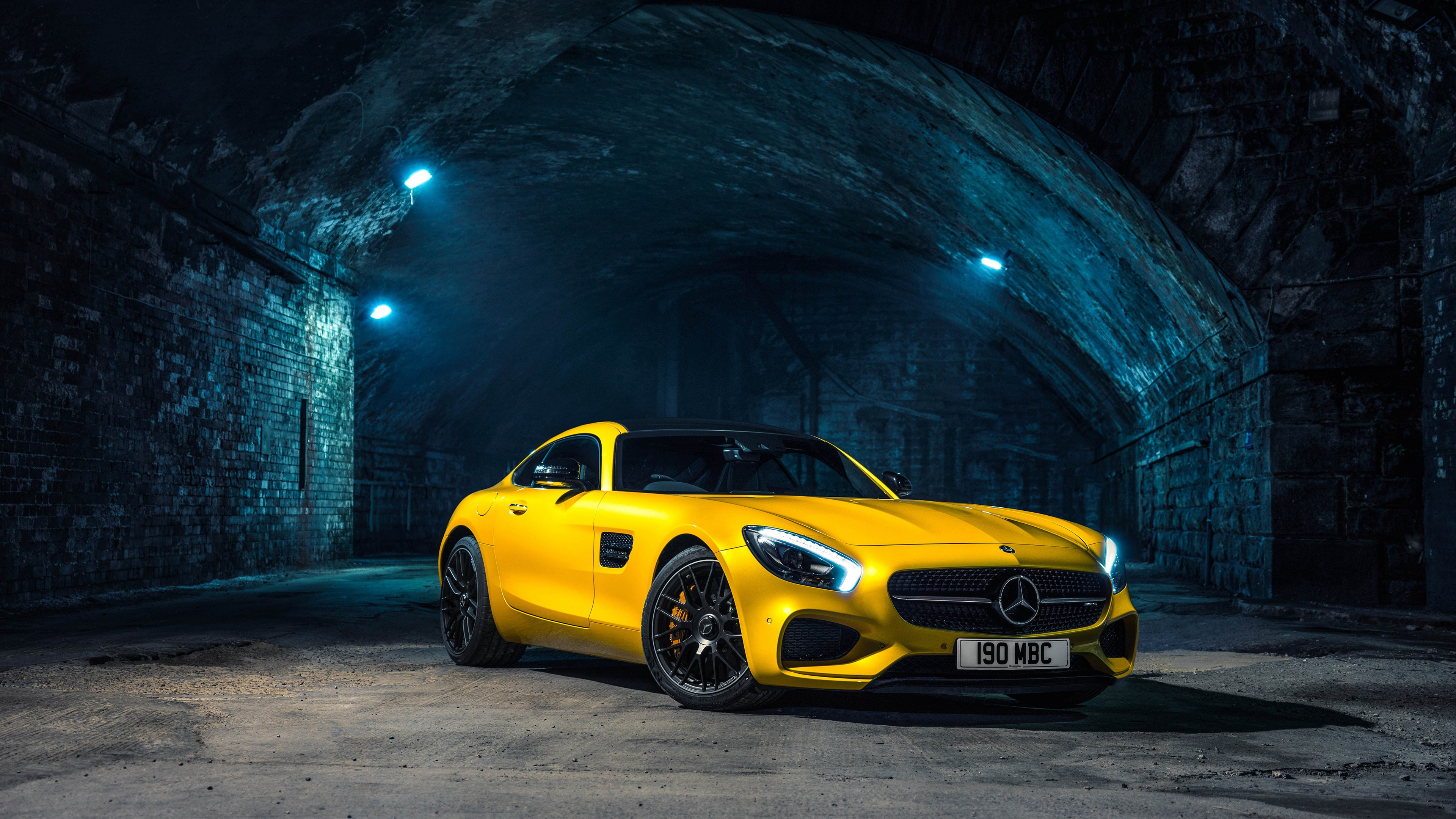 Cars Wallpapers: 2015 Mercedes AMG GT S Wallpaper