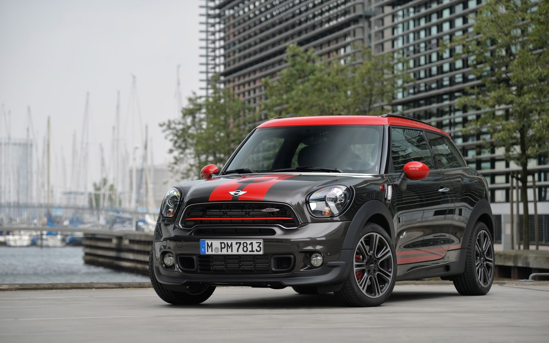 2015 mini john cooper works paceman wallpaper hd car wallpapers id 4702. Black Bedroom Furniture Sets. Home Design Ideas