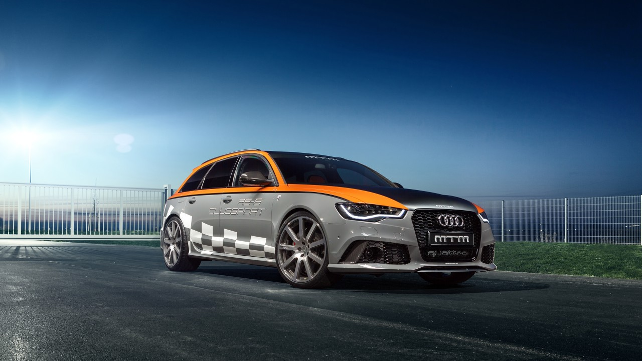 Cars Wallpapers: 2015 MTM Audi RS6 Avant Wallpaper