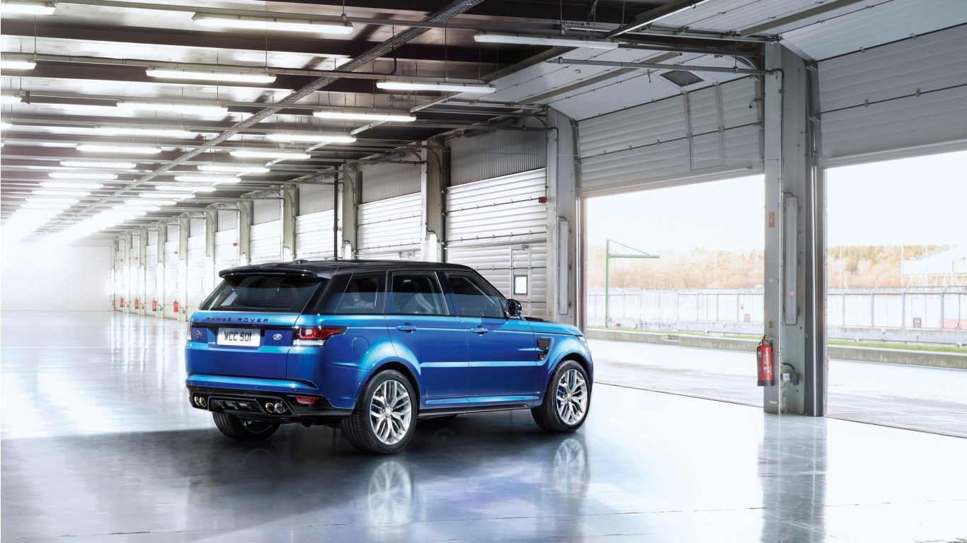 2015 range rover sport svr 2 wallpaper hd car wallpapers. Black Bedroom Furniture Sets. Home Design Ideas