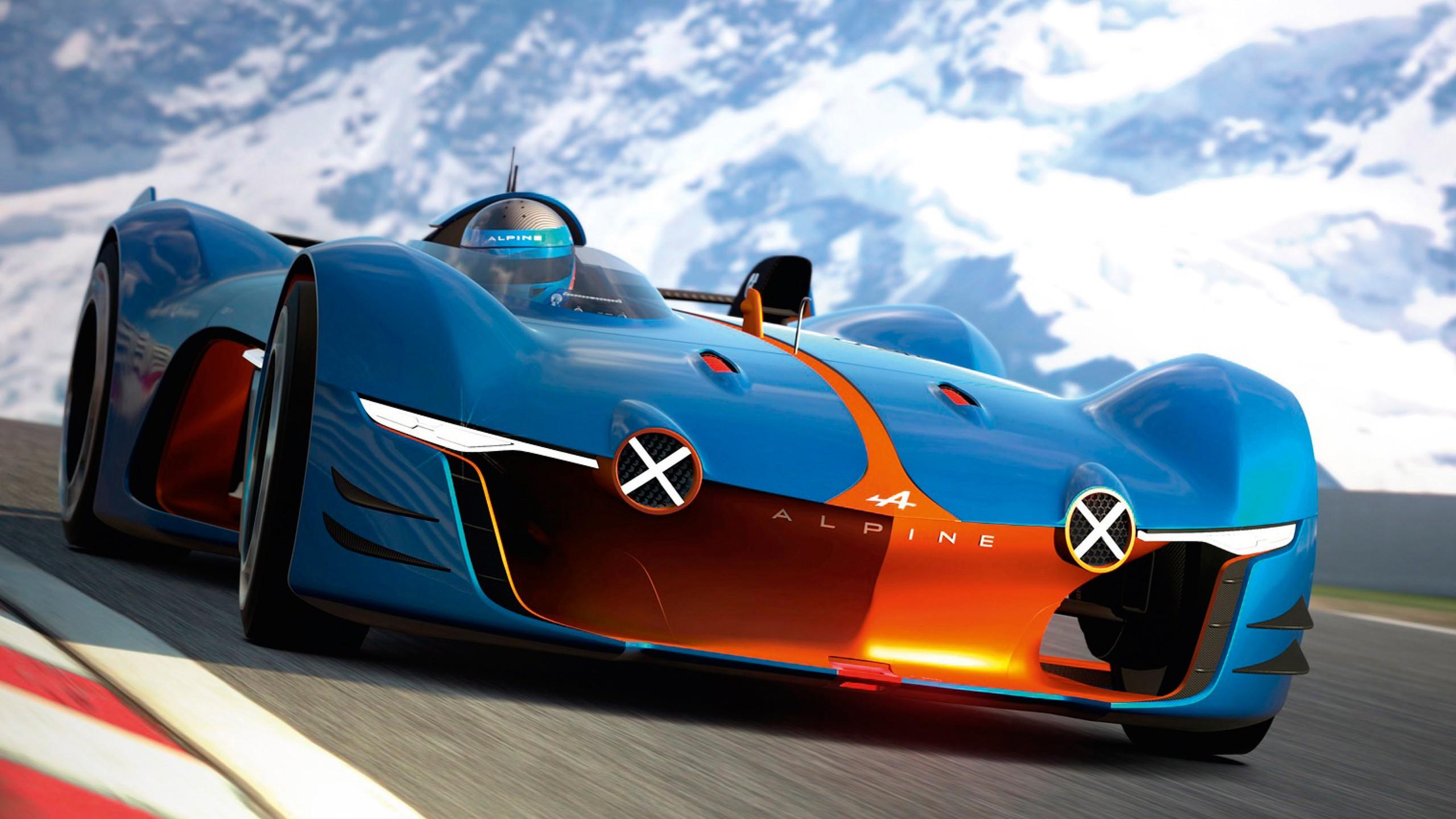 Gran Turismo Wallpaper Hd: 2015 Renault Alpine Vision Gran Turismo 3 Wallpaper