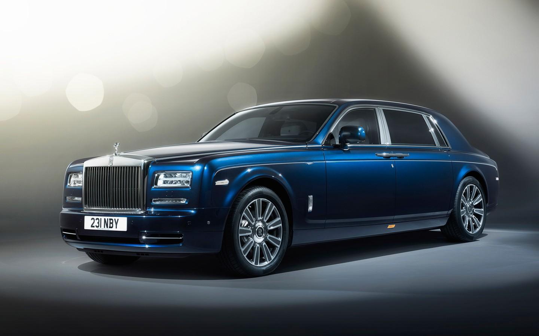 2015 Rolls Royce Phantom Limelight Wallpaper Hd Car