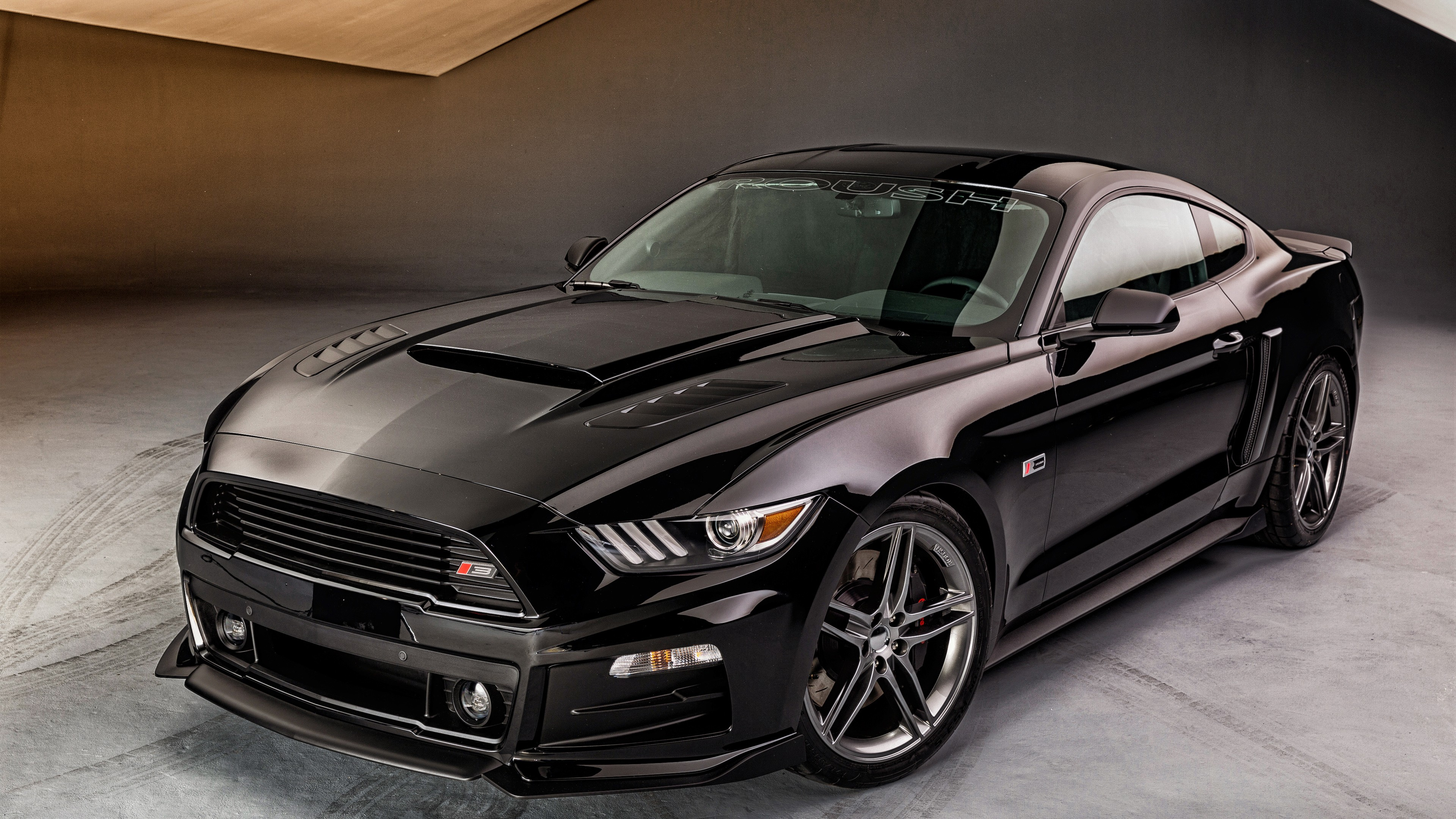 2015 roush ford mustang rs wallpaper hd car wallpapers