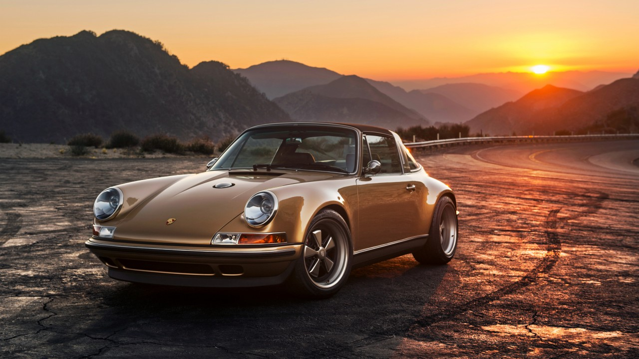 4k Porche Carrera Gt Wallpaper: 2015 Singer Porsche 911 Targa Wallpaper