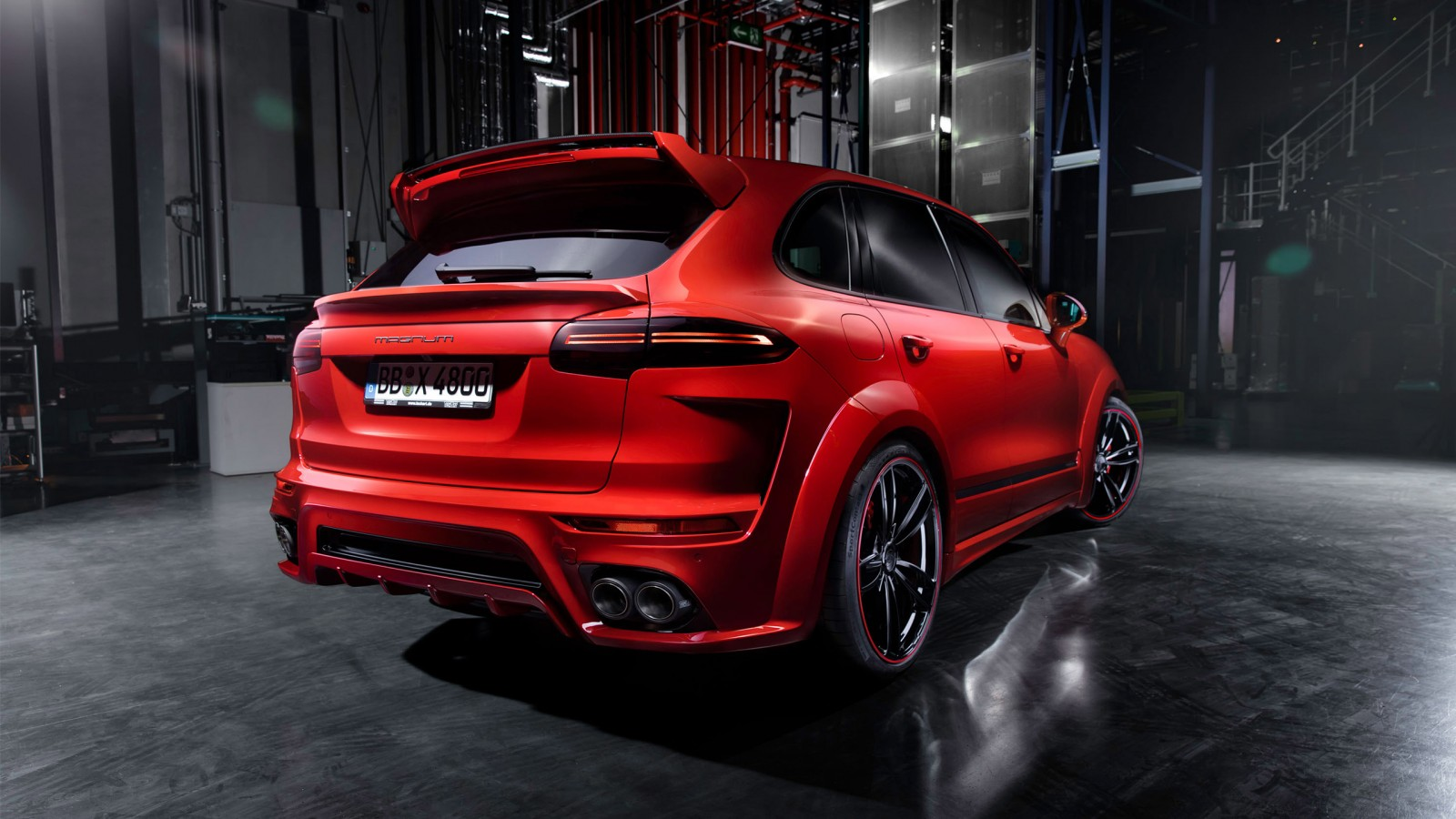 2015 Techart Porsche Cayenne Magnum 4 Wallpaper Hd Car
