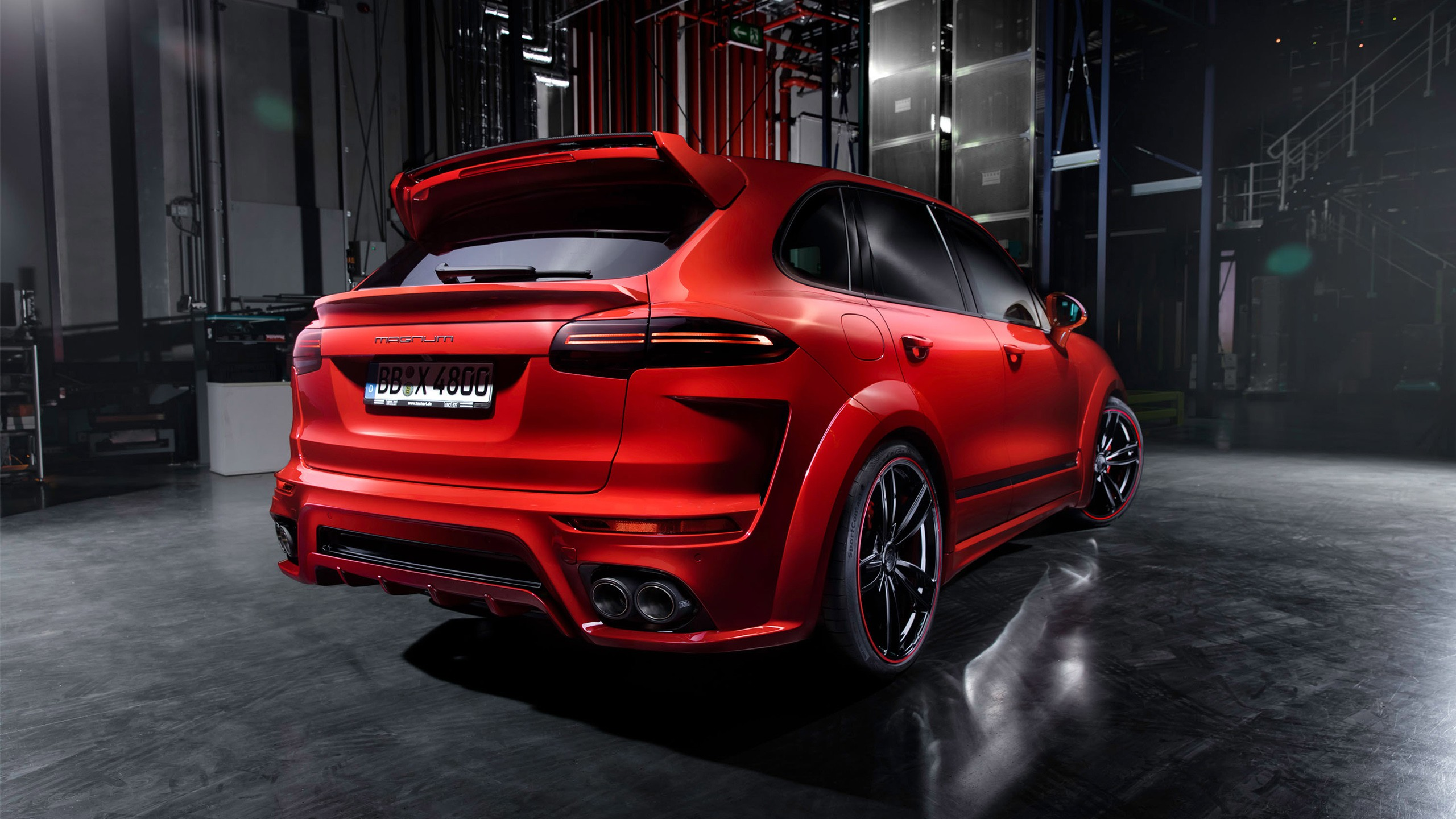 2015 Techart Porsche Cayenne Magnum 4 Wallpaper Hd Car