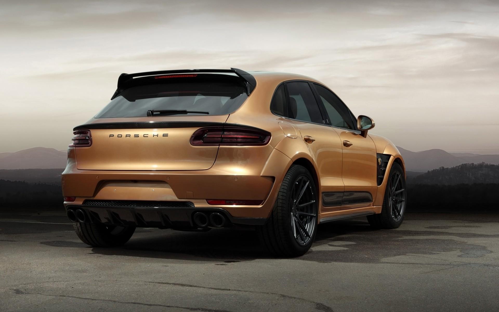 Porsche Macan S 2014 Wallpapers: 2015 TopCar Porsche Macan URSA Aurum 2 Wallpaper