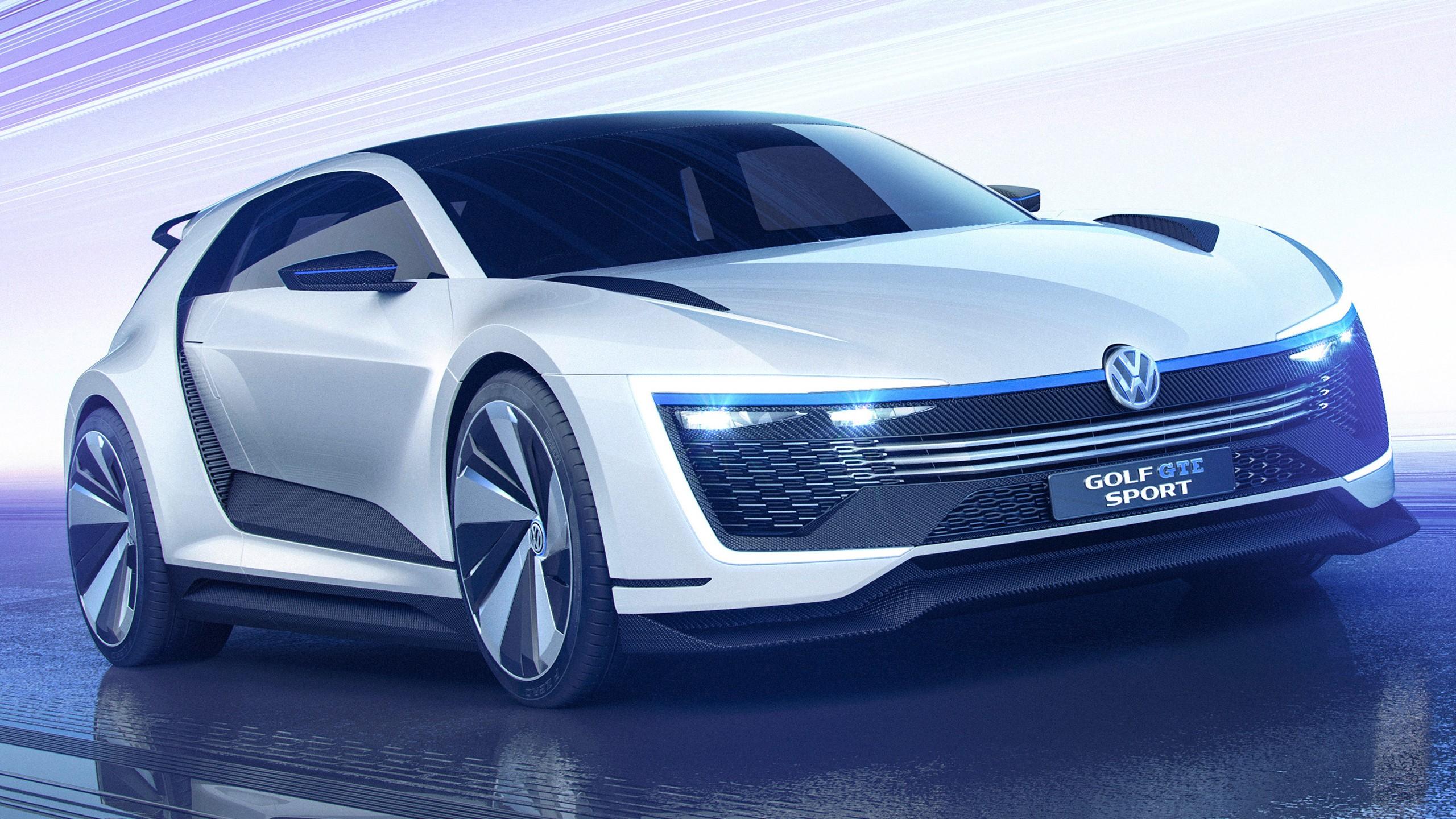 Luxurious Vw Sport Full Hd Car Wallpapers: 2015 Volkswagen Golf GTE Sport Concept Wallpaper