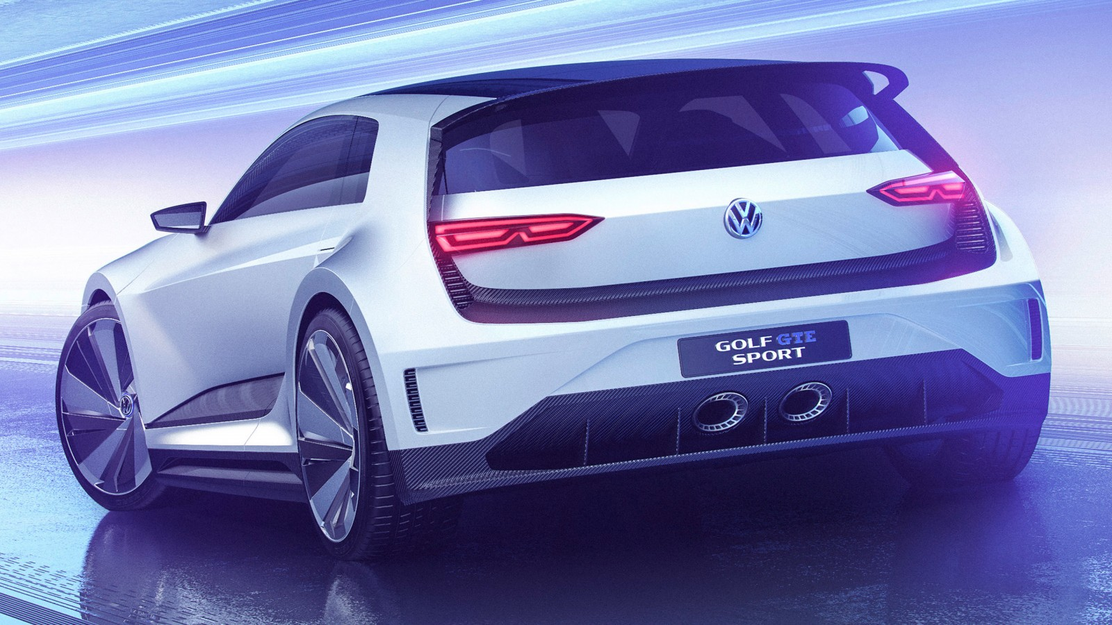 2015 Volkswagen Golf Gte Sport Concept 3 Wallpaper Hd