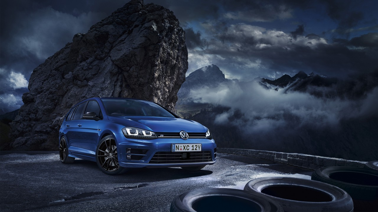2015 Volkswagen Golf R Wagon Wallpaper | HD Car Wallpapers ...