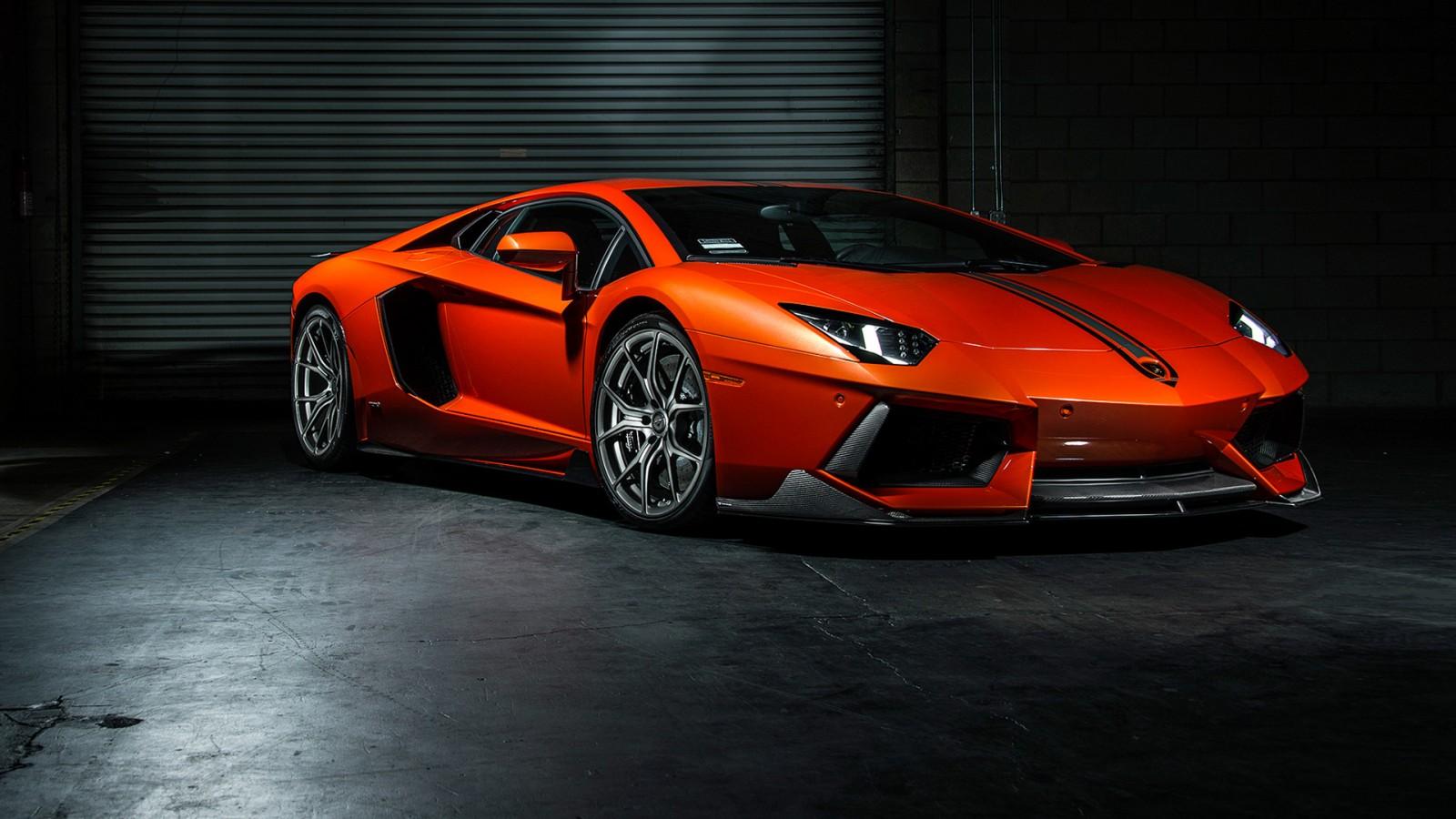 2015 Vorsteiner Lamborghini Aventador Coupe Wallpaper Hd