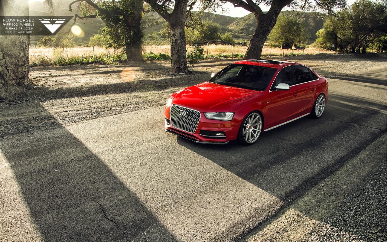 2015 Vorsteiner Red Audi S4 Wallpaper Hd Car Wallpapers Id 5590