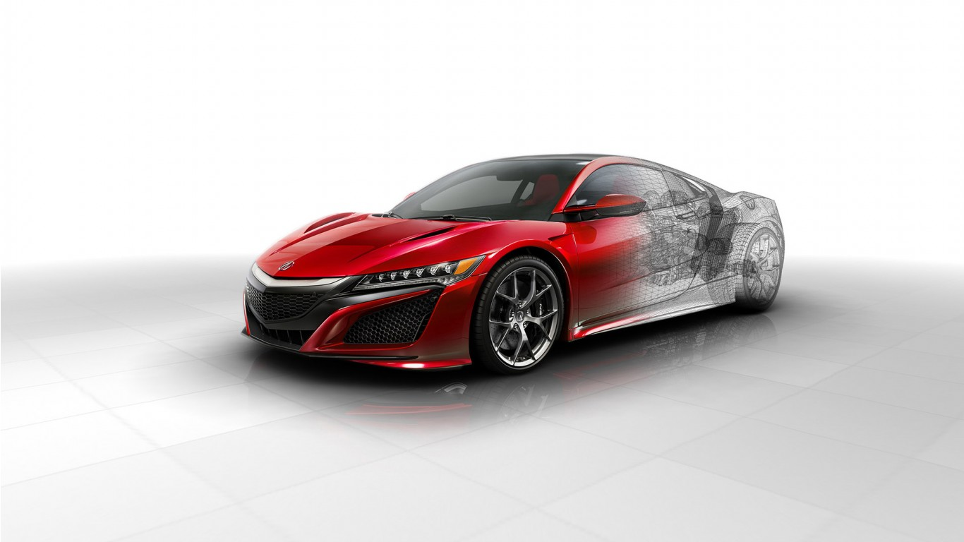 2016 Acura NSX Technical Wallpaper
