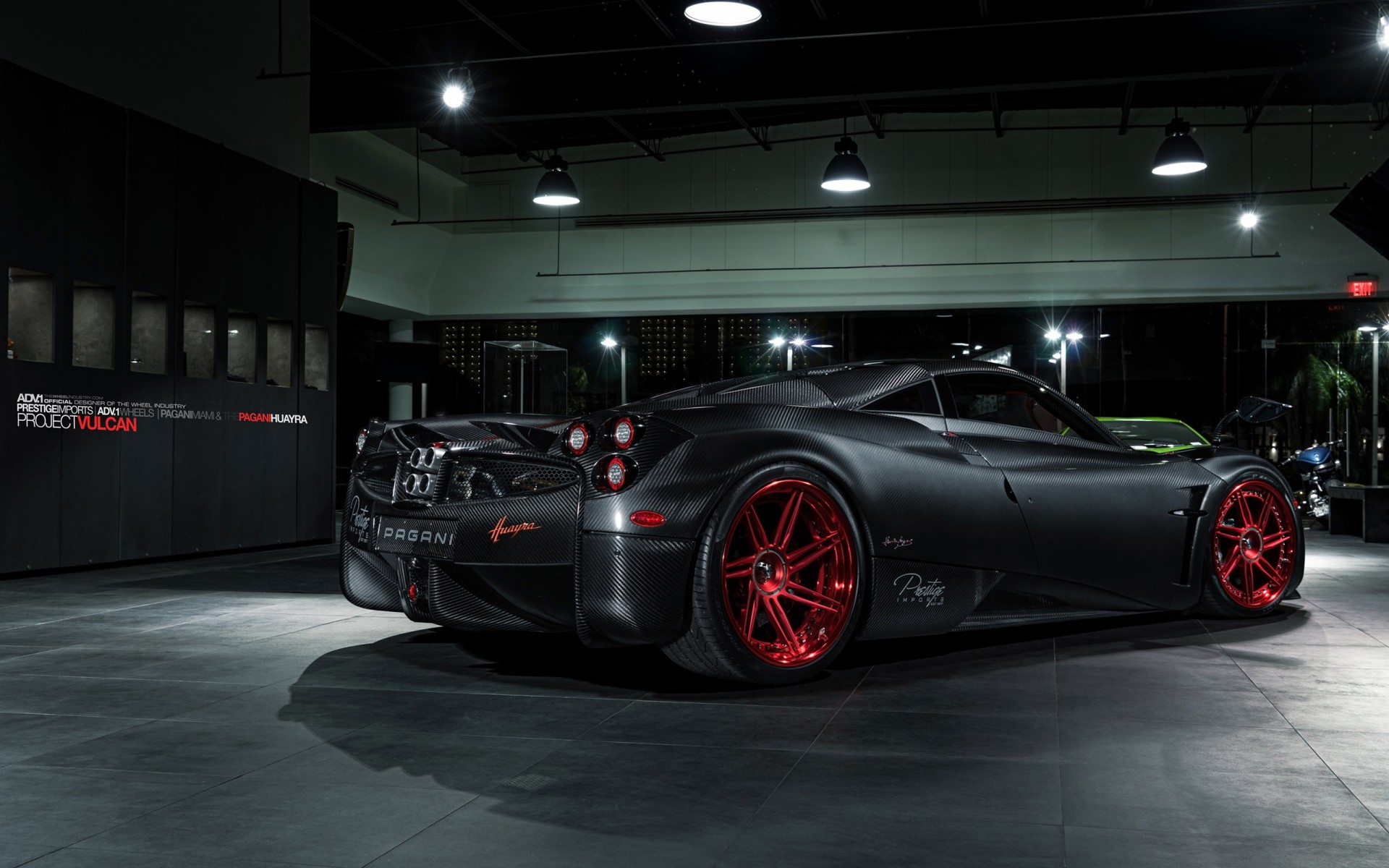 2016 ADV1 Wheels Pagani Huayra Rear Wallpaper | HD Car ...