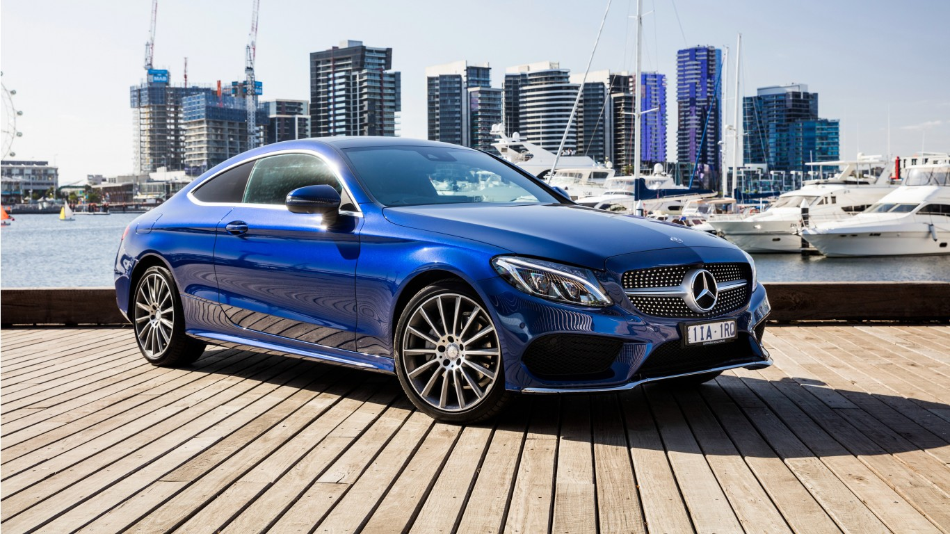2016 amg mercedes benz c class wallpaper hd car. Black Bedroom Furniture Sets. Home Design Ideas