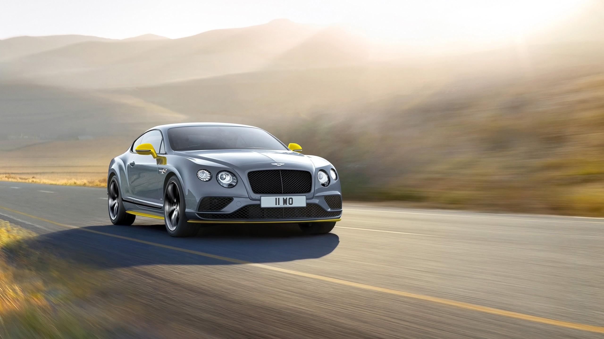 2016 Bentley Continental Gt Speed Black Edition Wallpaper Hd Car Wallpapers Id 6405