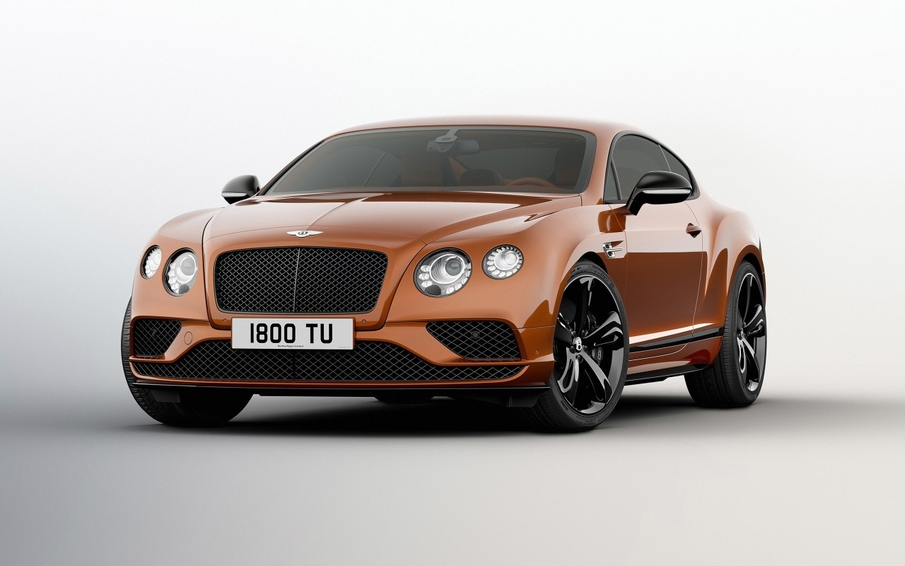 Jaguar Car Black >> 2016 Bentley Continental GT Speed Black Edition 2 Wallpaper | HD Car Wallpapers | ID #6406
