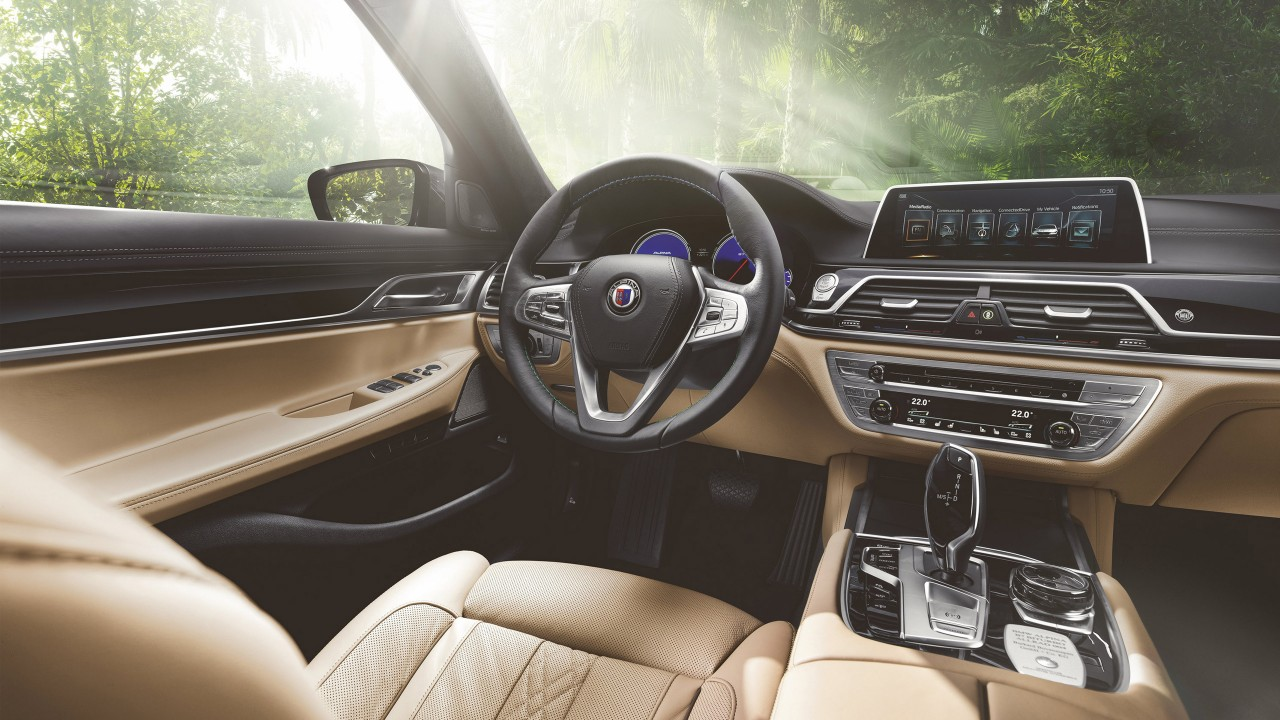 2016 BMW Alpina B7 Bi Turbo Sedan Interior Wallpaper  HD Car