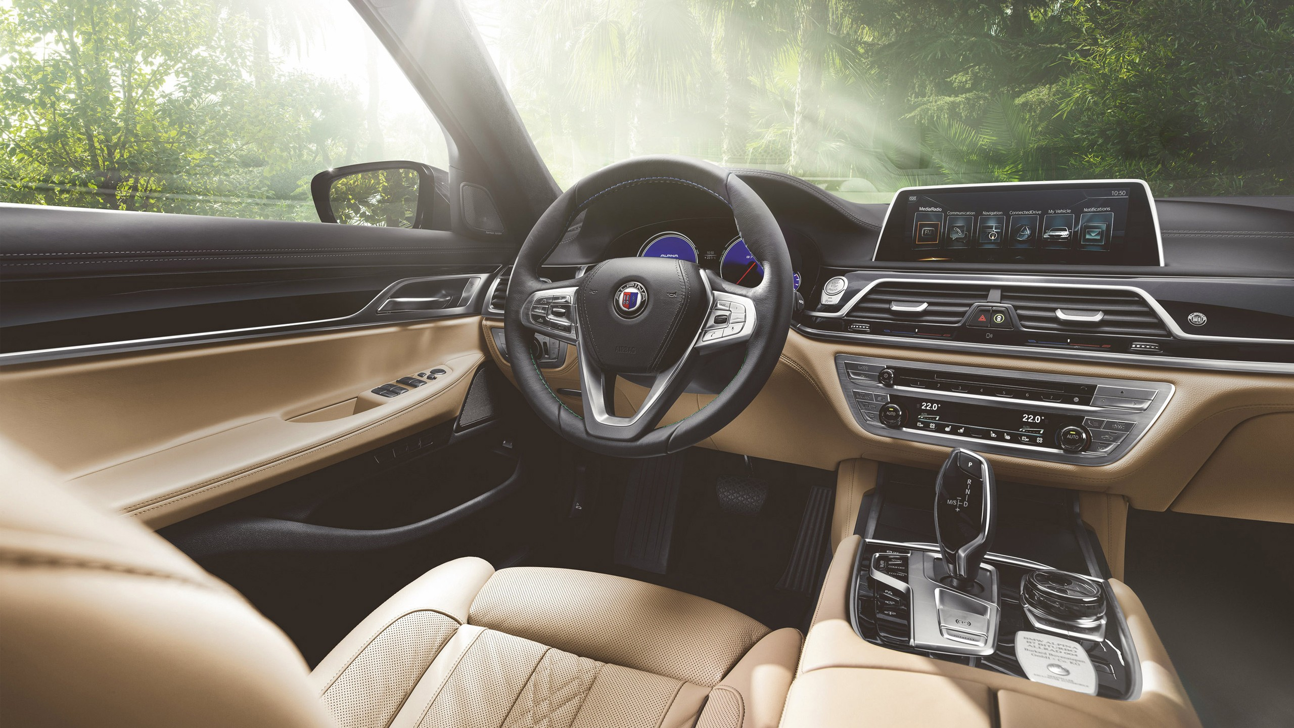 Wallpaper 2016 BMW Alpina B7 Bi Turbo Sedan Interior