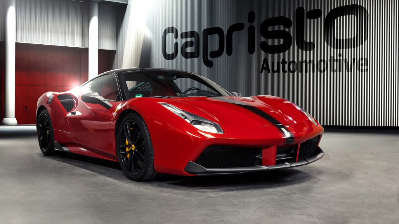 2016 Capristo Automotive Ferrari 488 Gtb Wallpaper Hd