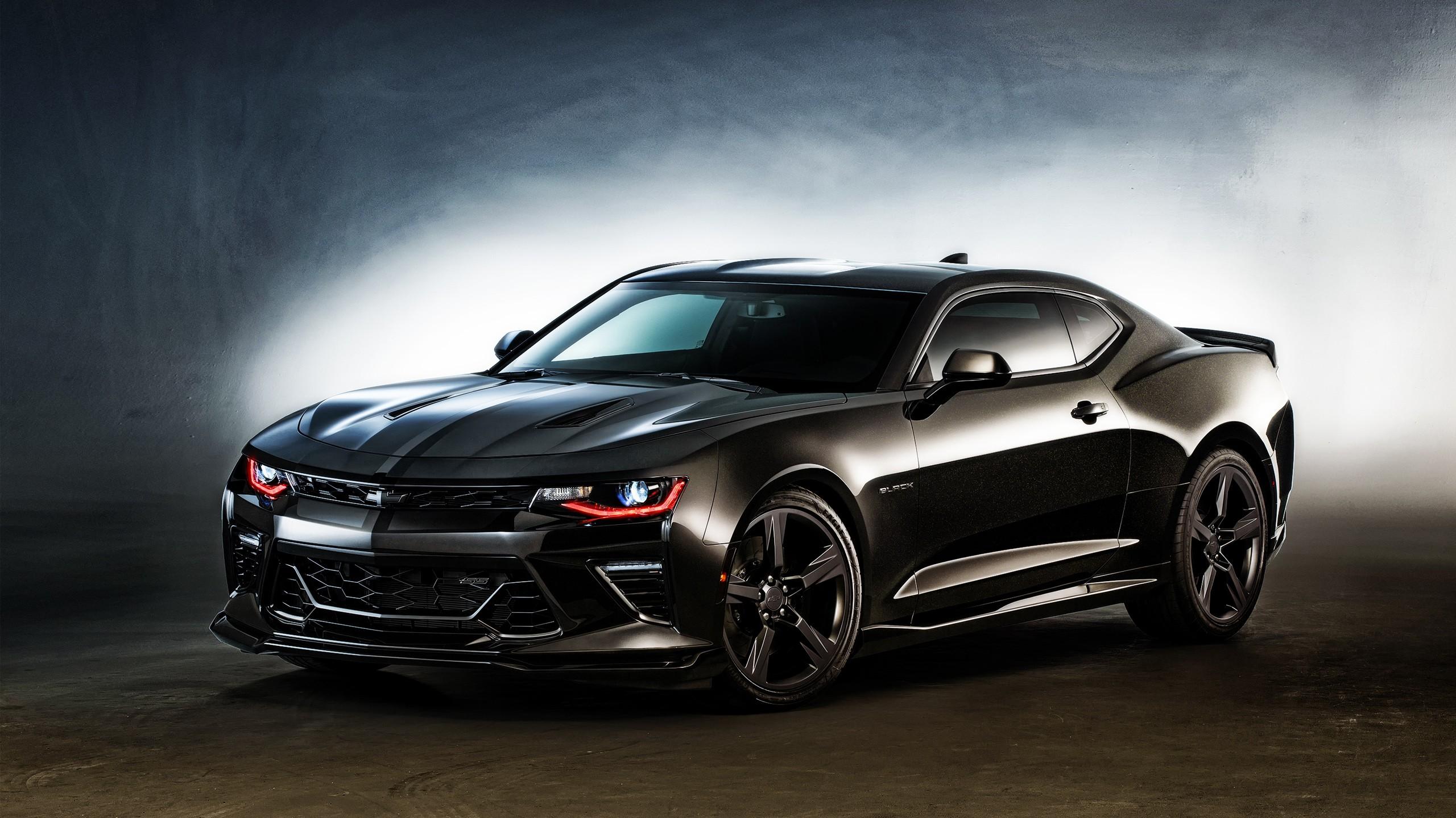 2016 Chevrolet Camaro Black Wallpaper | HD Car Wallpapers ...
