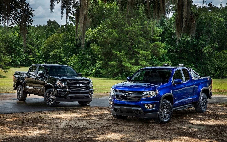 2017 Silverado Colors >> 2016 Chevrolet Colorado Midnight Edition Trail Boss Wallpaper | HD Car Wallpapers | ID #5578