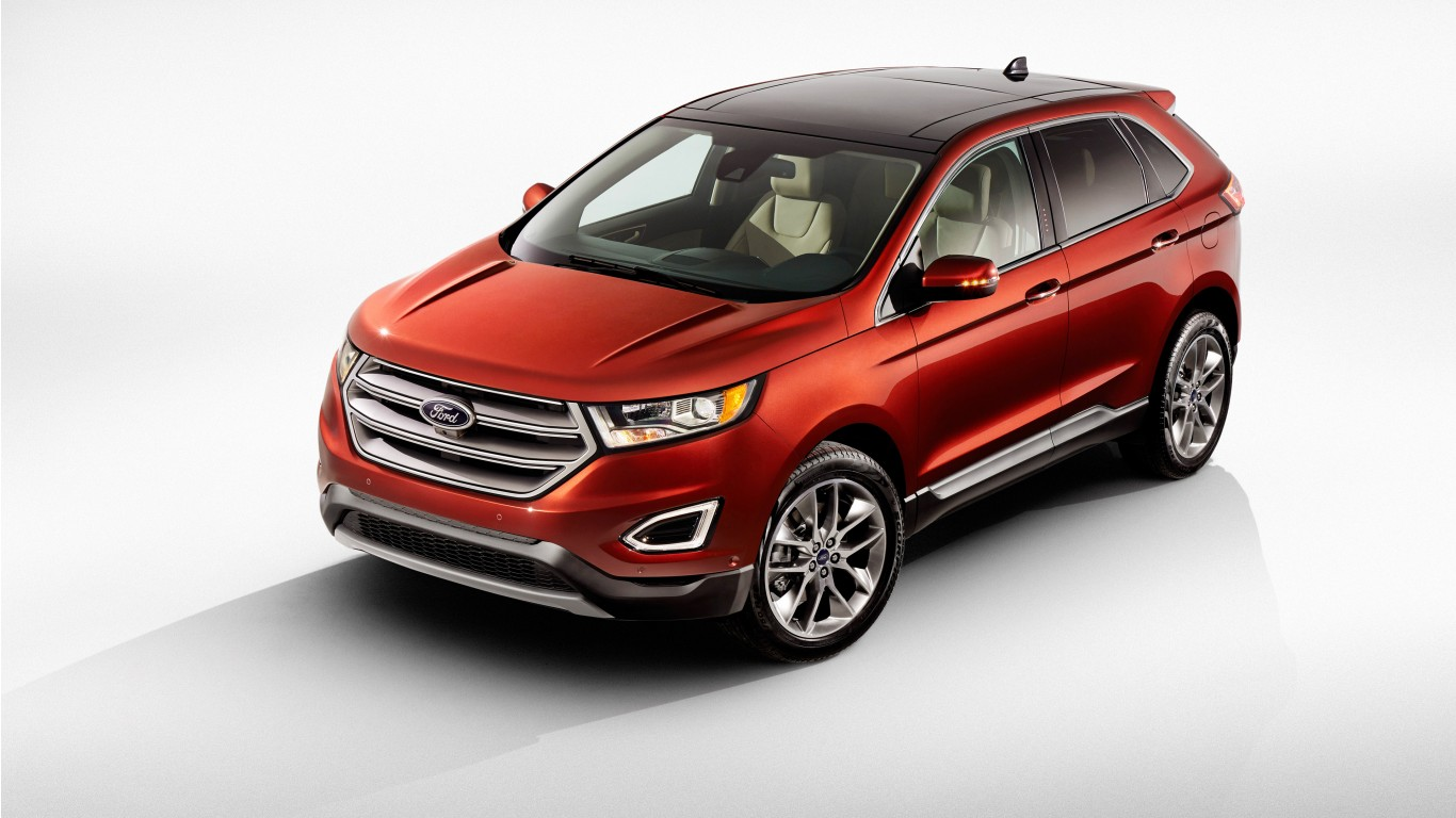 2016 ford edge wallpaper hd car wallpapers. Black Bedroom Furniture Sets. Home Design Ideas
