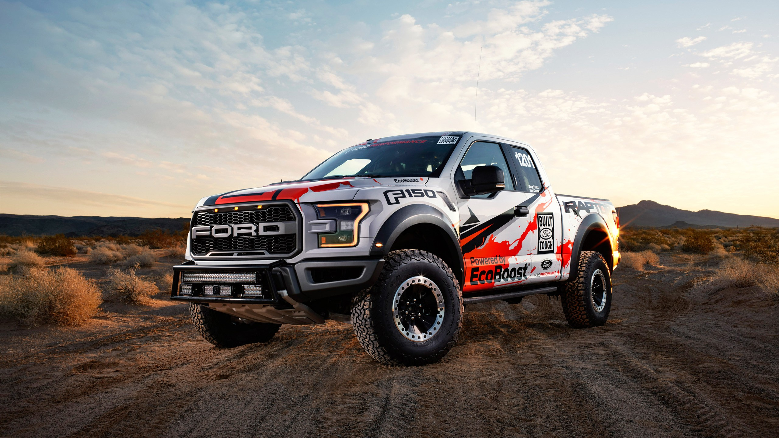 Ford F Raptor X on 2017 Dodge 4 Door Truck