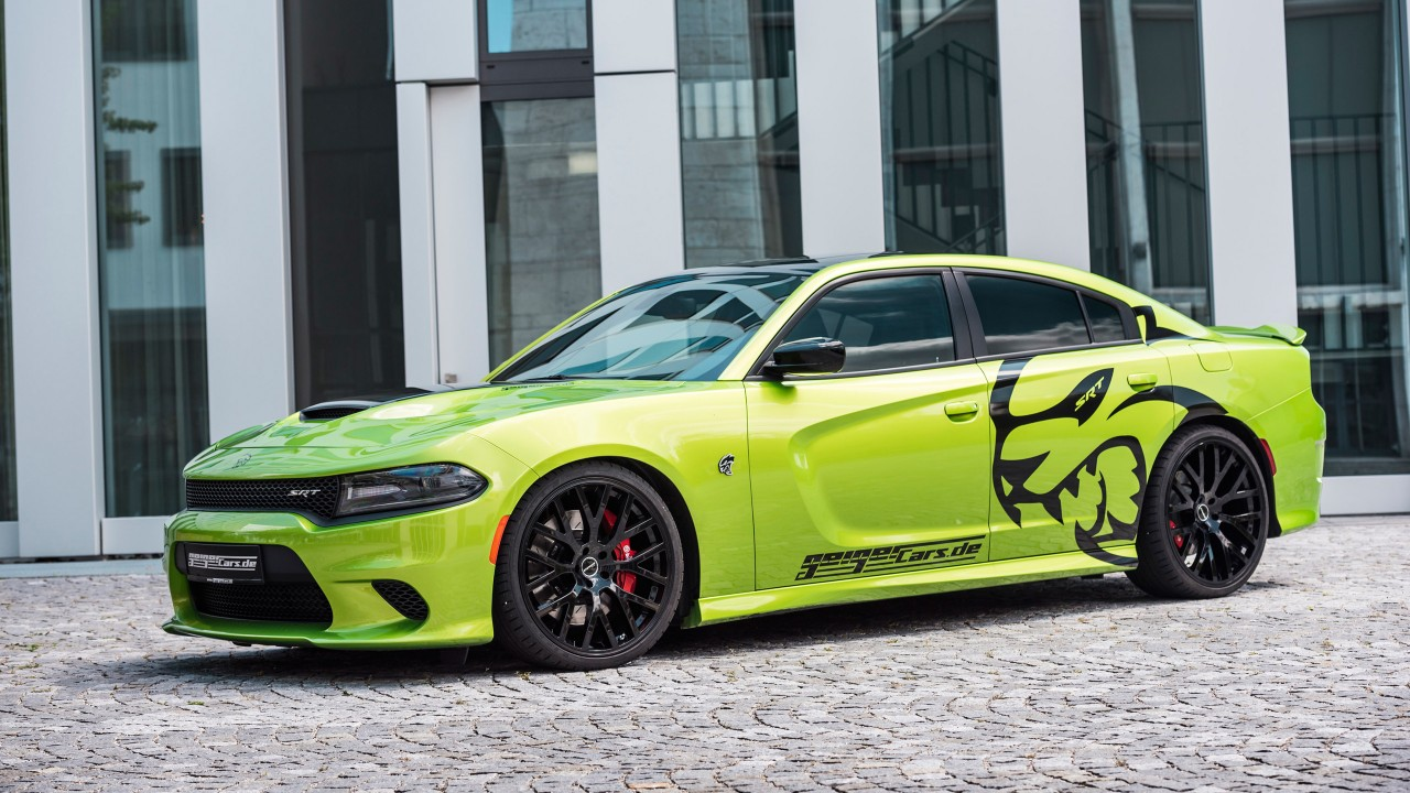 hellcat dodge charger srt geigercars wallpapers