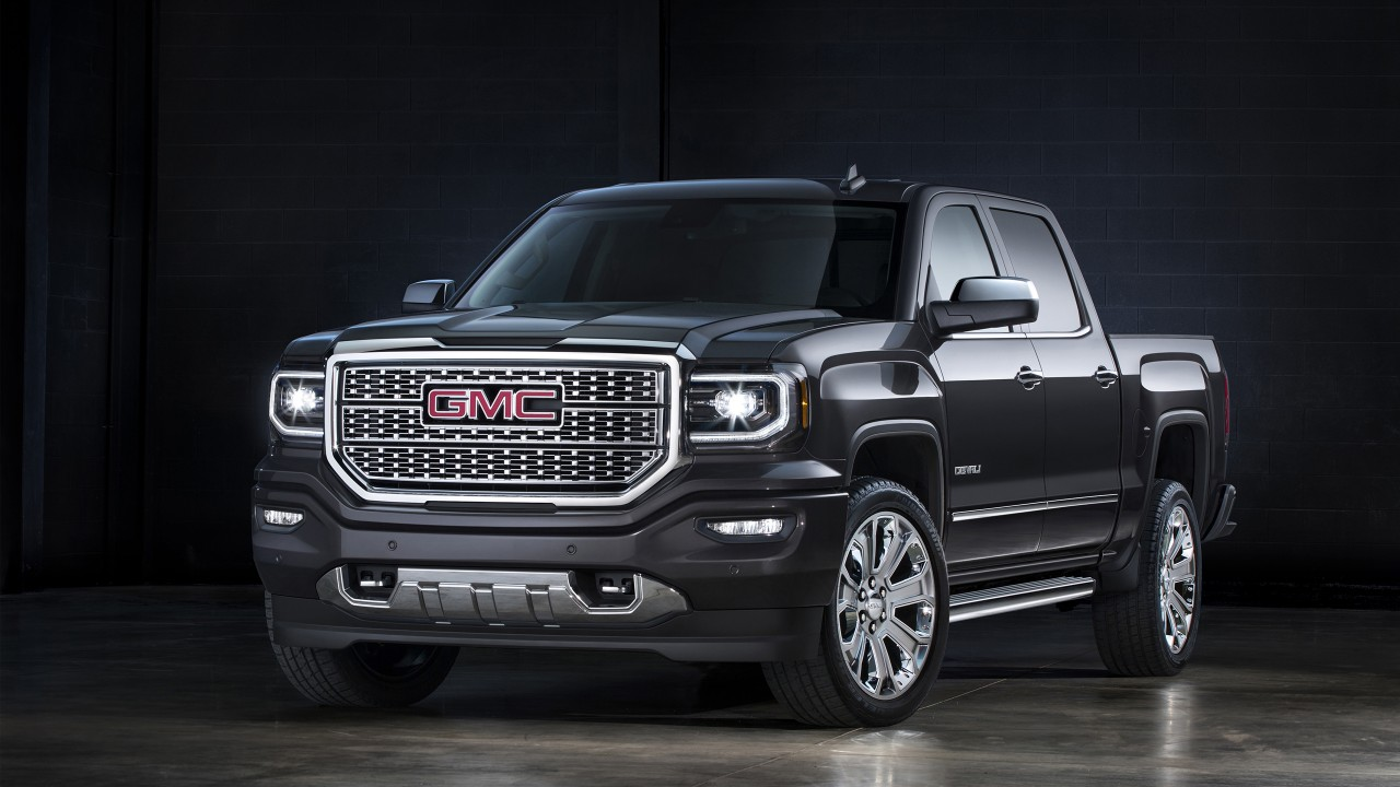 2016 Gmc Sierra Denali Wallpaper Hd Car Wallpapers Id