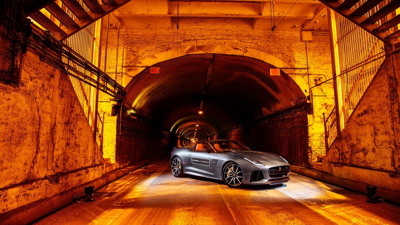 Bmw Park Avenue >> 2016 Jaguar F Type SVR Park Avenue Tunnel Wallpaper | HD Car Wallpapers | ID #6769