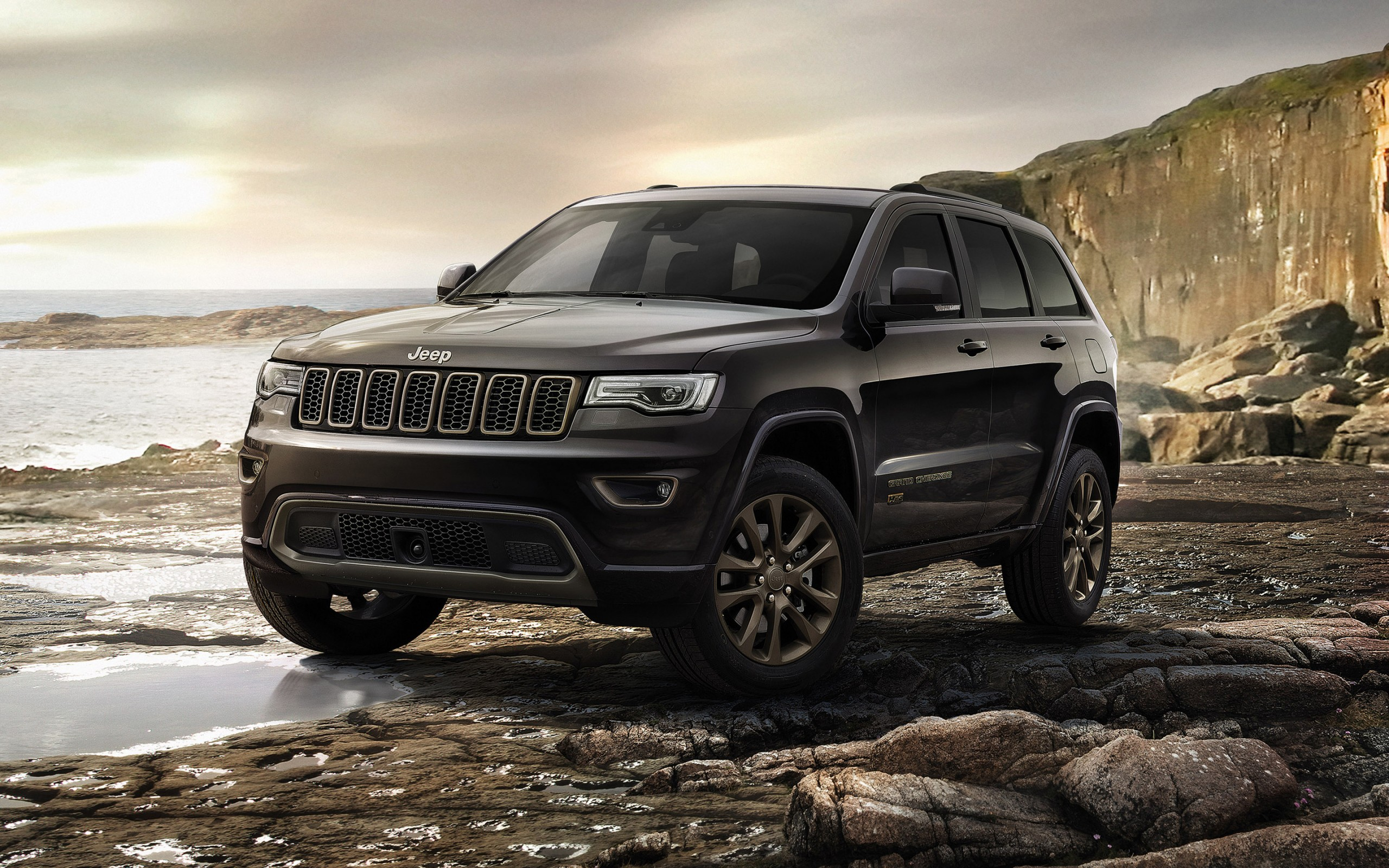 Jeep Grand Cherokee Overland >> 2016 Jeep Grand Cherokee 75th Anniversary Wallpaper | HD Car Wallpapers | ID #6420