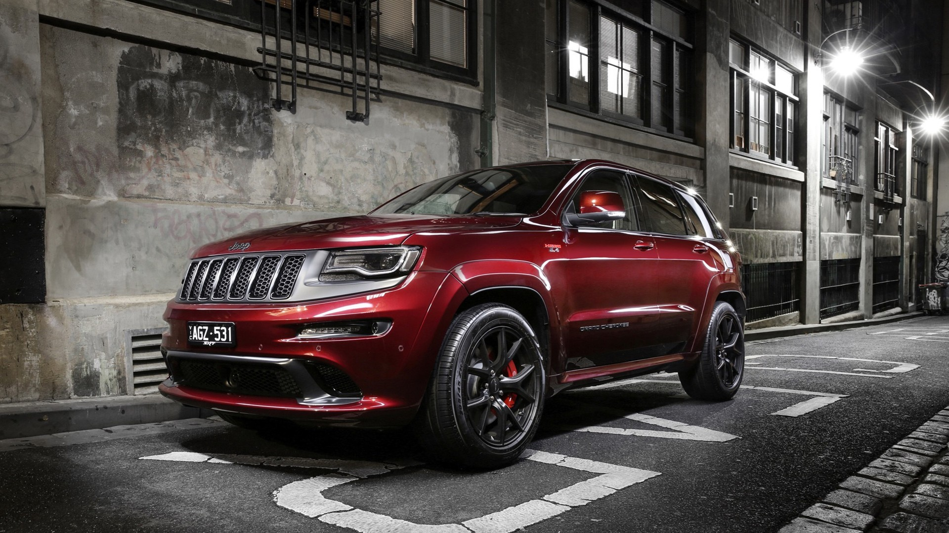 2016 Jeep Grand Cherokee Srt Night Limited Edition