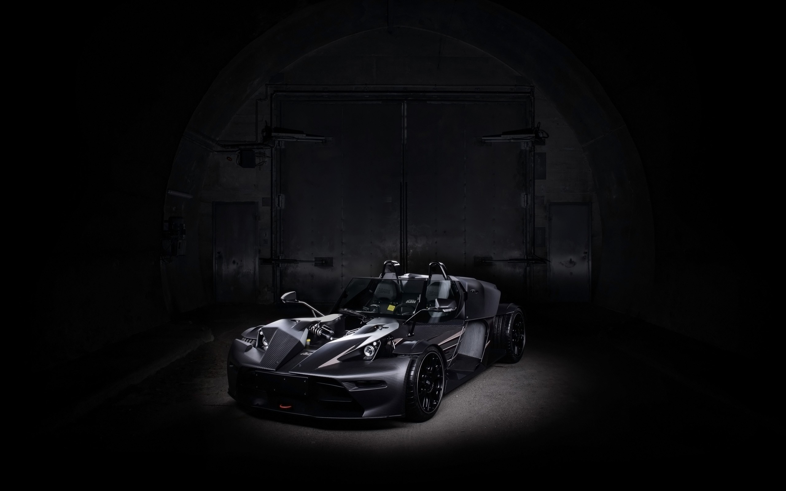 Black Cars Wallpaper 7 Background: 2016 KTM X Bow GT Black Edition Wallpaper