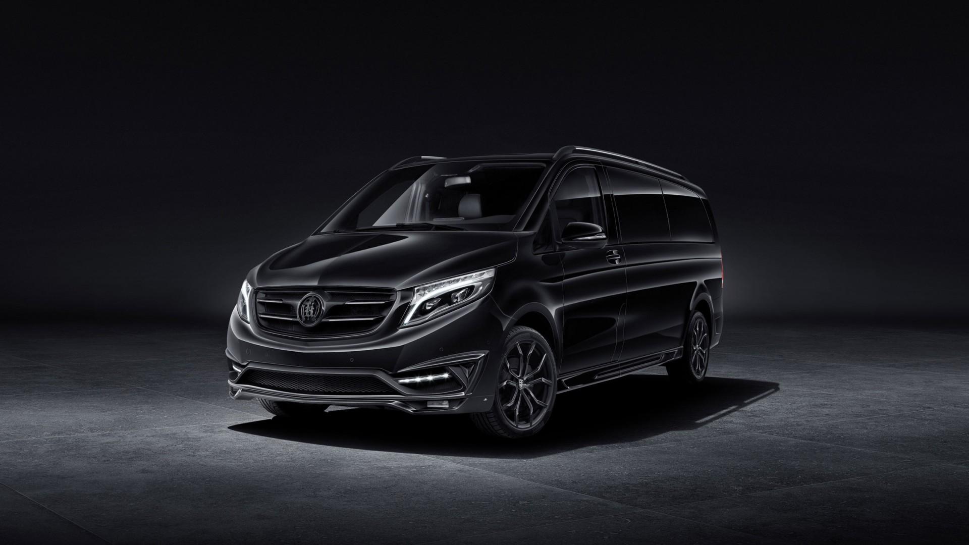 2016 Larte Design Mercedes Benz V Class Black Crystal Wallpaper Hd Car Wallpapers Id 6508