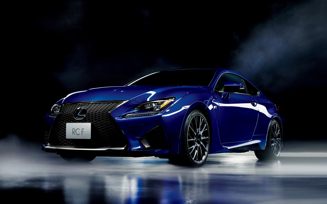 2016 Lexus RC F Sport Coupe 4K Wallpaper | HD Car ...