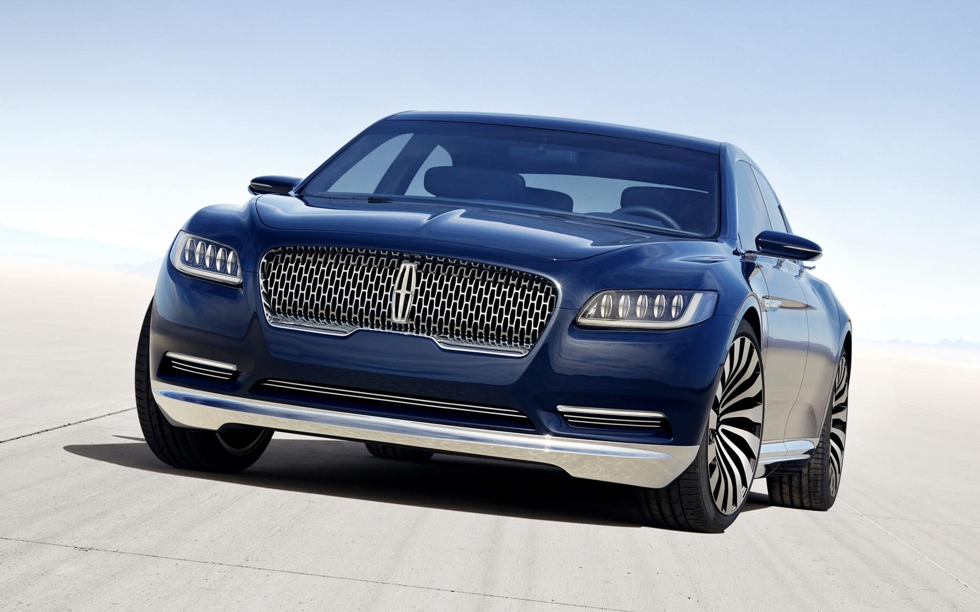 2016 Lincoln Continental Concept Wallpaper Hd Car