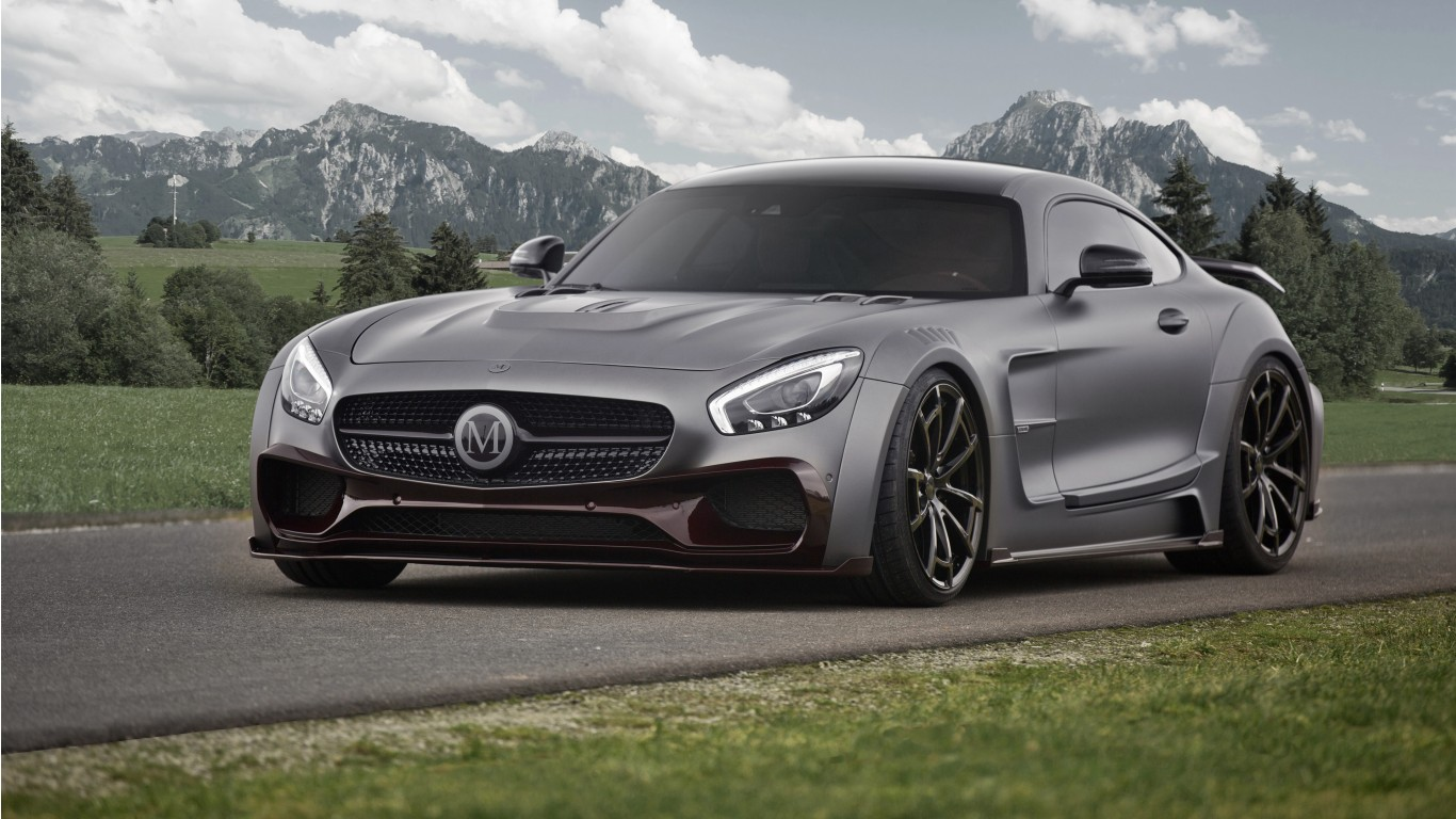 2016 Mansory Mercedes AMG GT S Wallpaper
