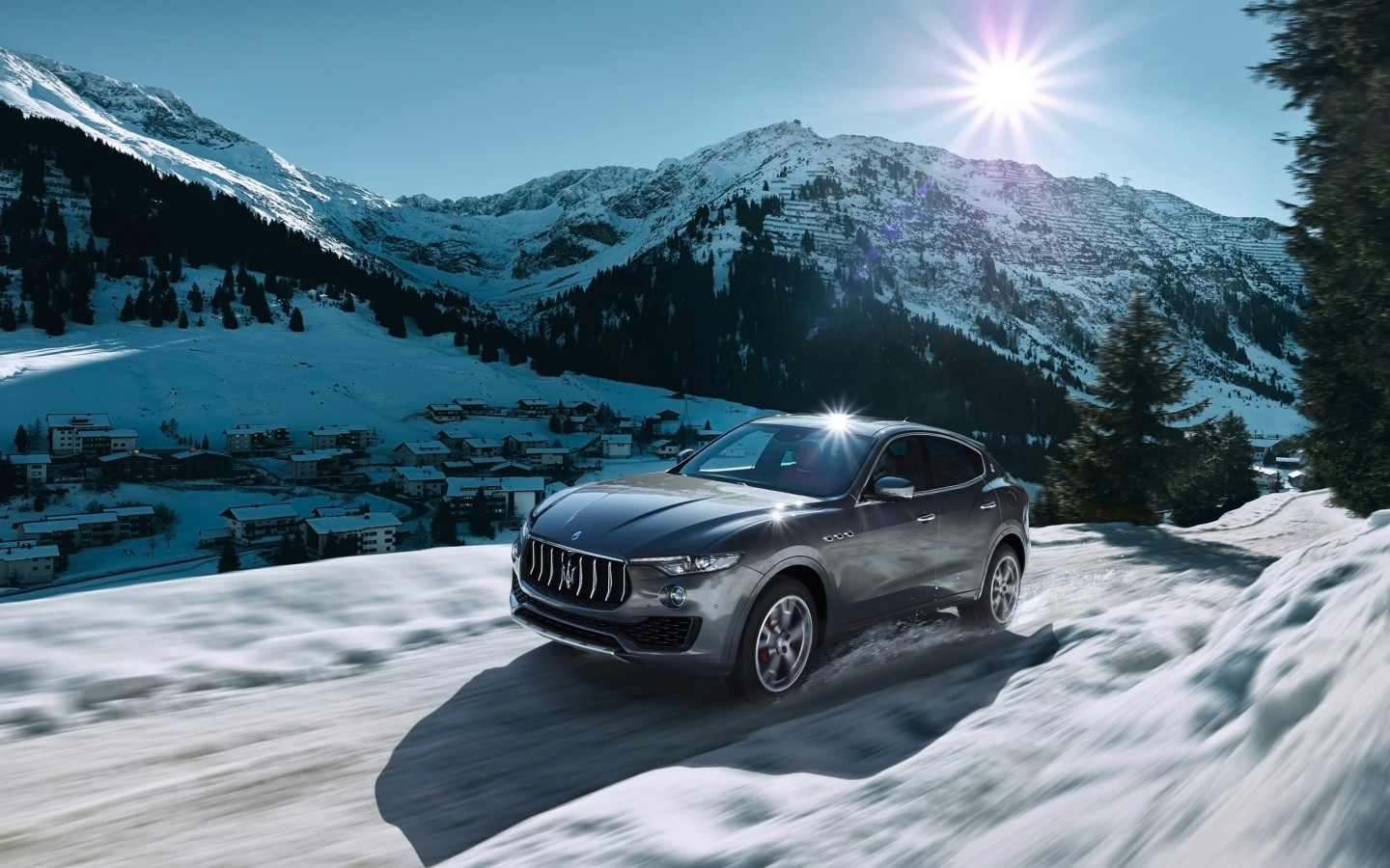 2016 Maserati Levante Wallpaper Hd Car Wallpapers Id 6208