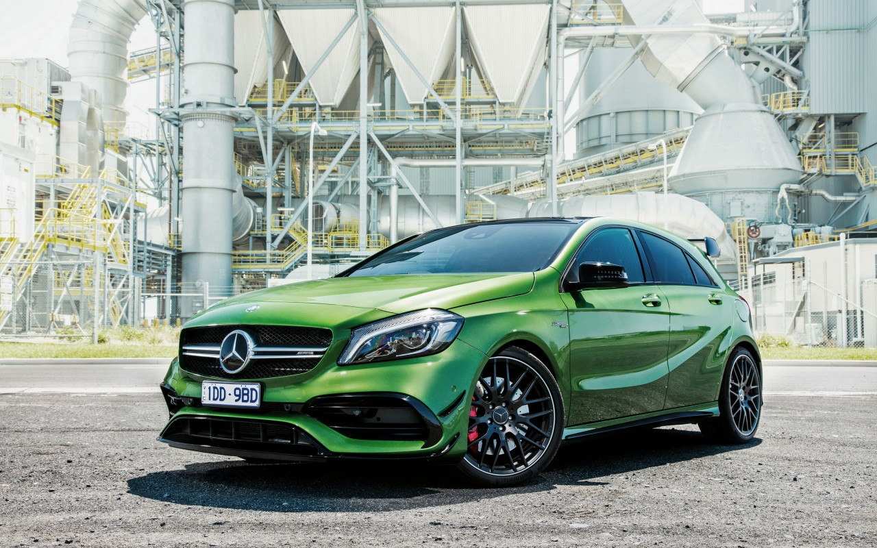 2016 mercedes benz a class a45 amg 4matic wallpaper hd. Black Bedroom Furniture Sets. Home Design Ideas