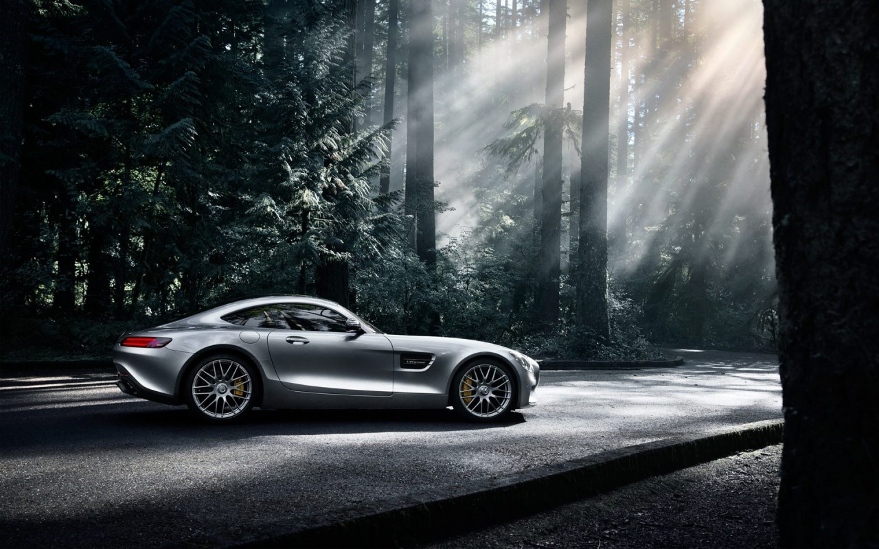 Mercedes Amg Gt Wallpaper: 2016 Mercedes Benz AMG GT S 3 Wallpaper