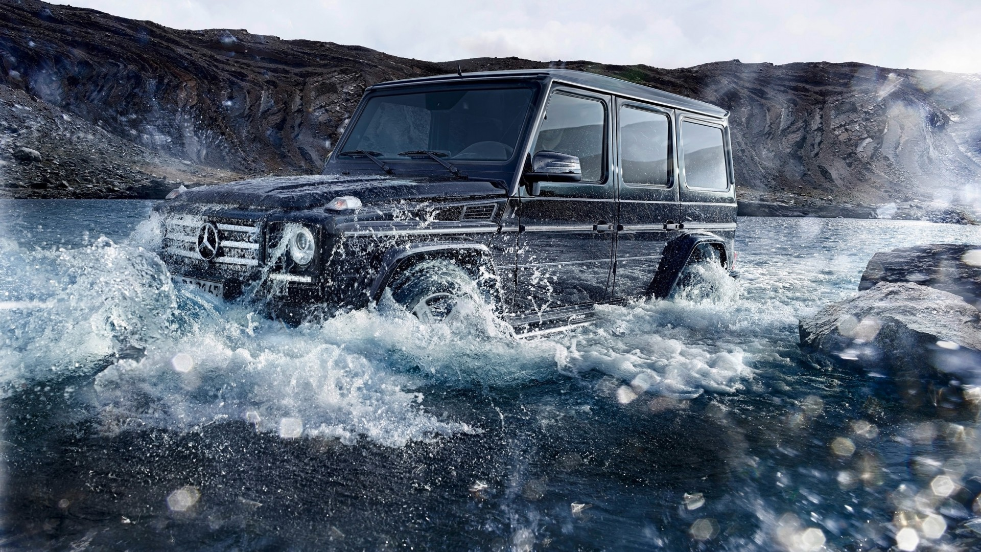2016 Mercedes Benz G Class Off Road Wallpaper Hd Car Wallpapers