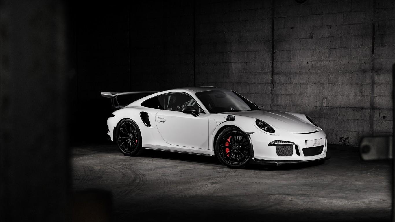 2016 Porsche 911 Gt3 Rs Carbon Techart Wallpaper Hd Car Wallpapers Id 6705