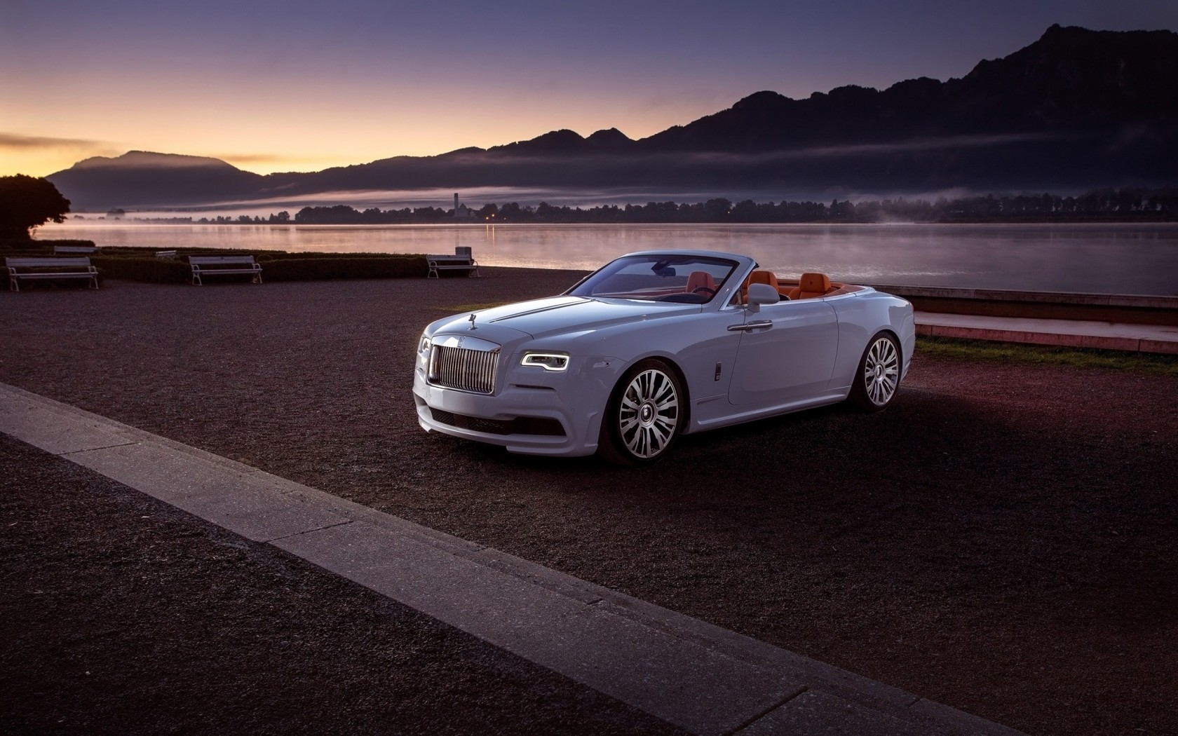 2016 Spofec Rolls Royce Dawn 3 Wallpaper